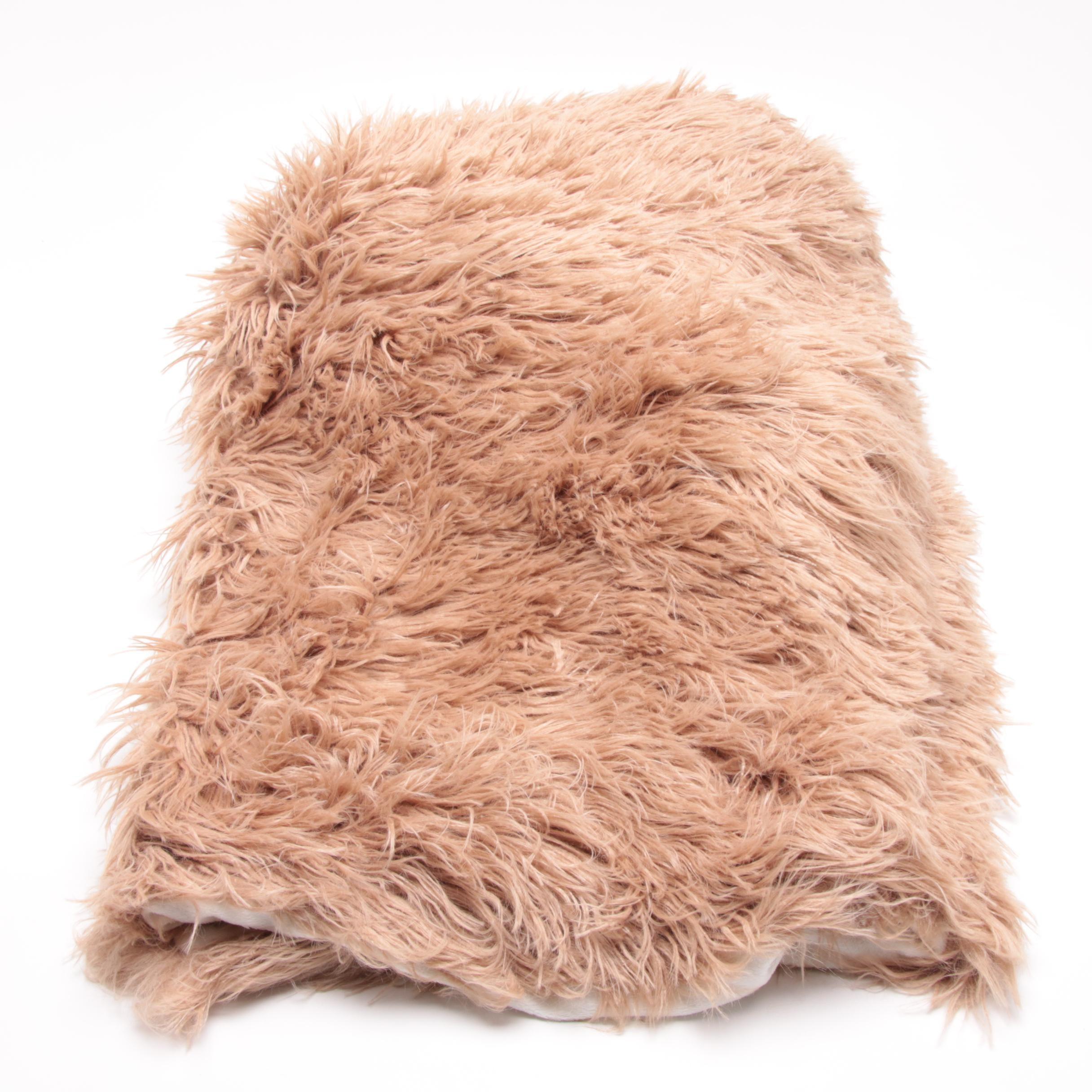 Fabulous Furs Faux Alpaca Throw