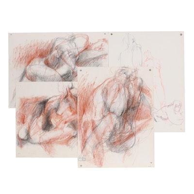 John Tuska 1995 Pastel Drawings