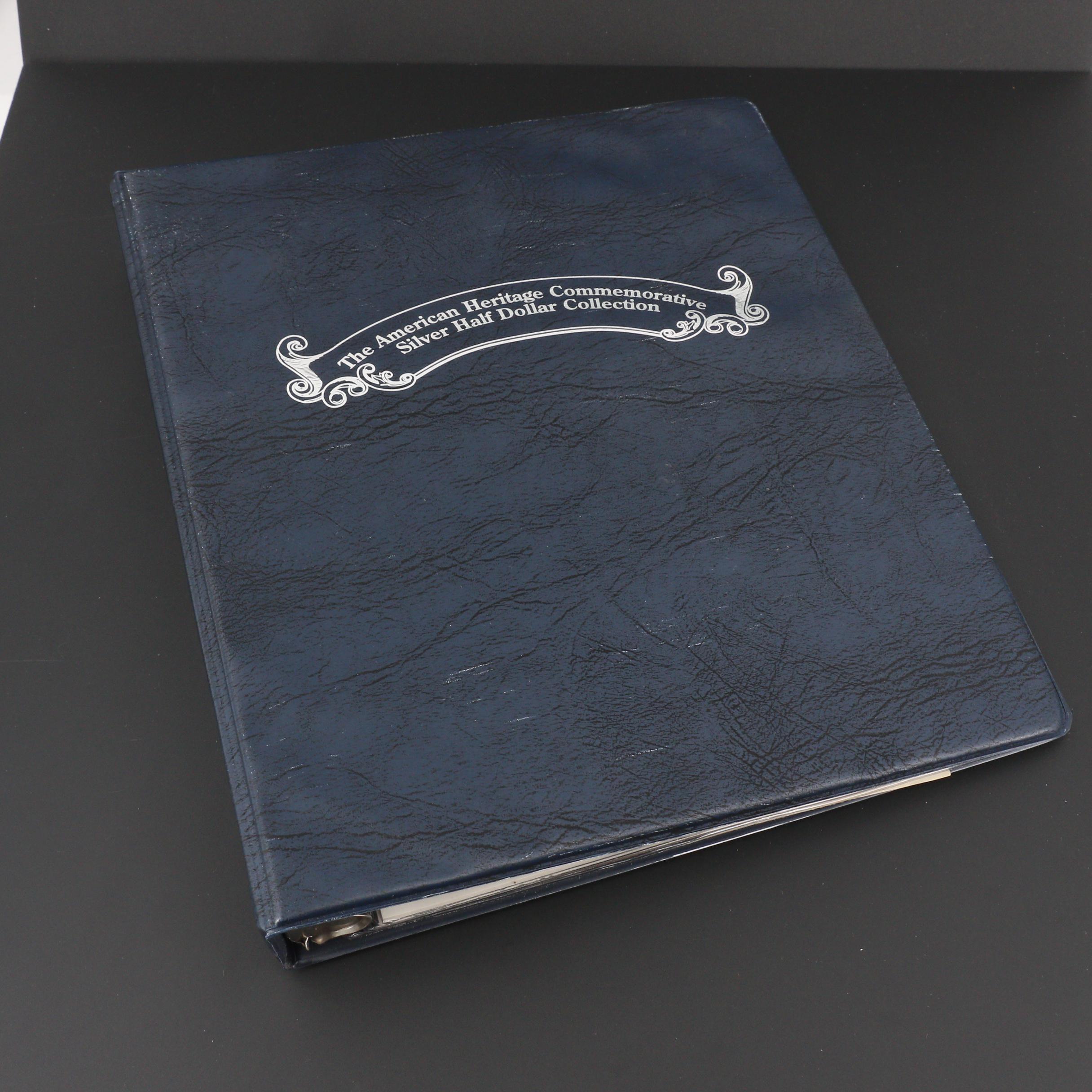 """The American Heritage Commemorative Silver Half Dollar Collection"""