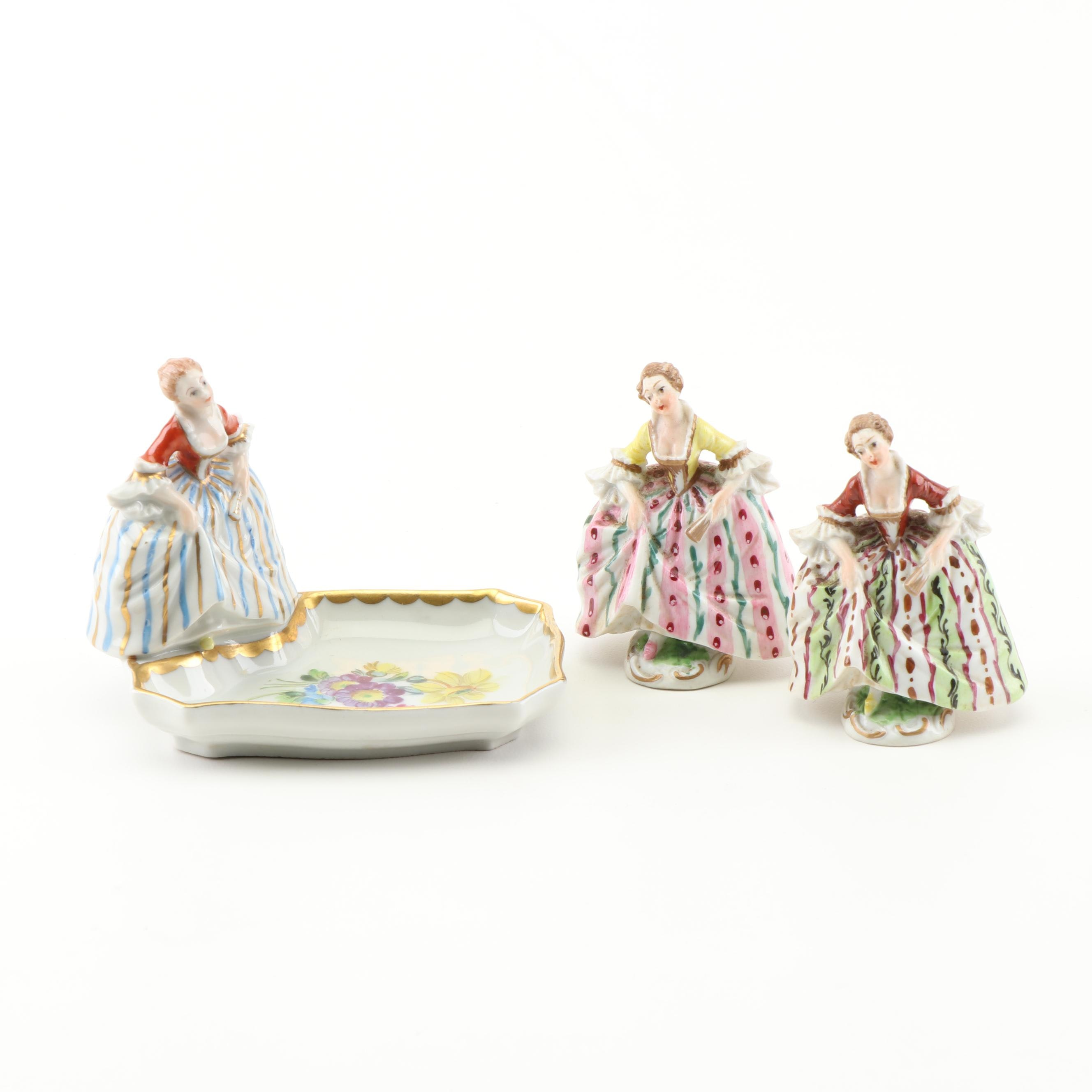 Dresden Porcelain Figurines