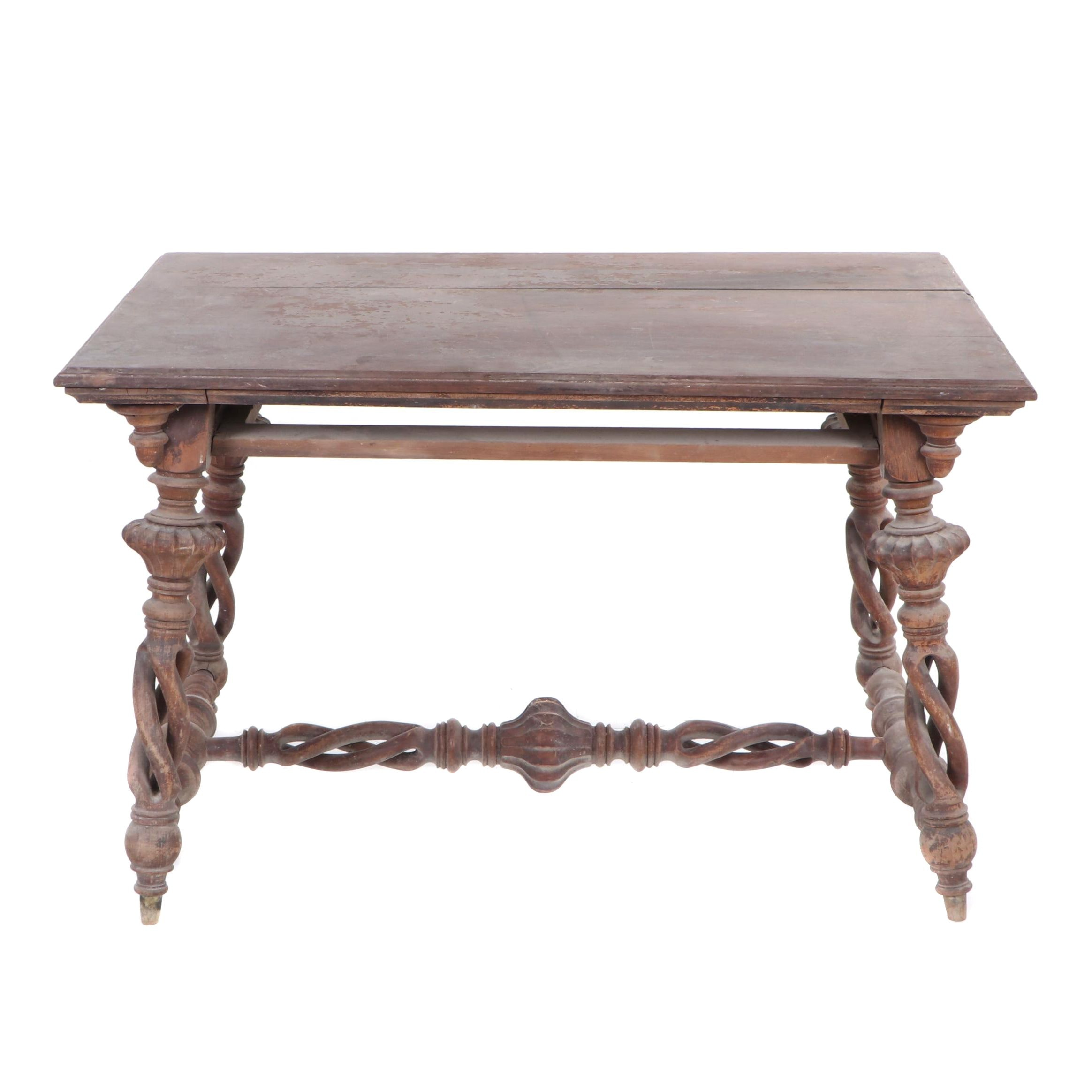Renaissance Revival Style Table, Late 19th Century