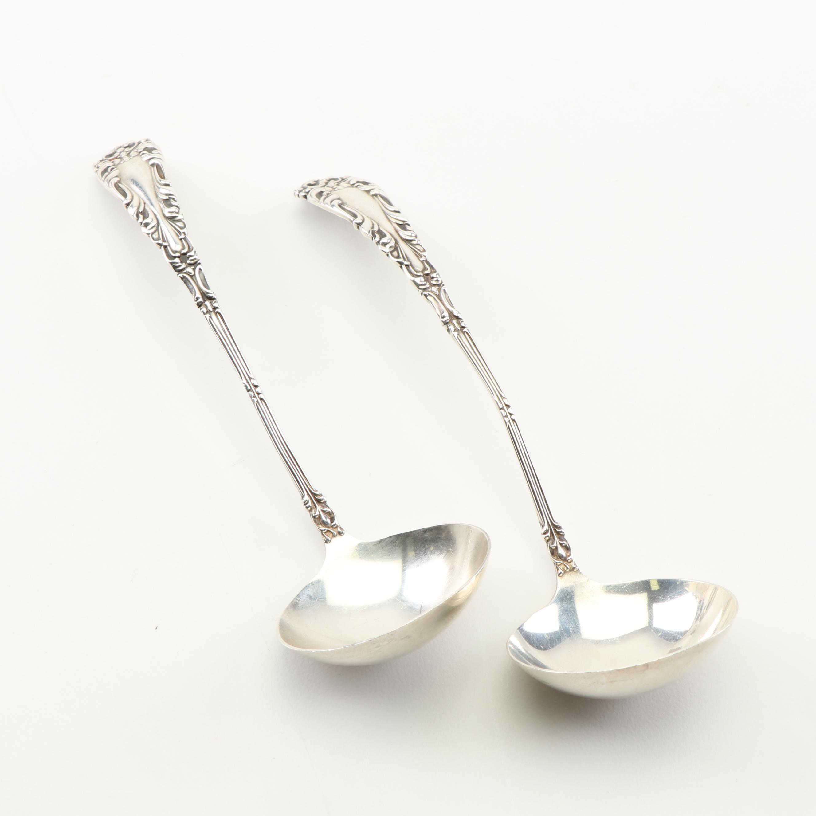 "Amston ""Athene"" Sterling Silver Bouillon Spoons"