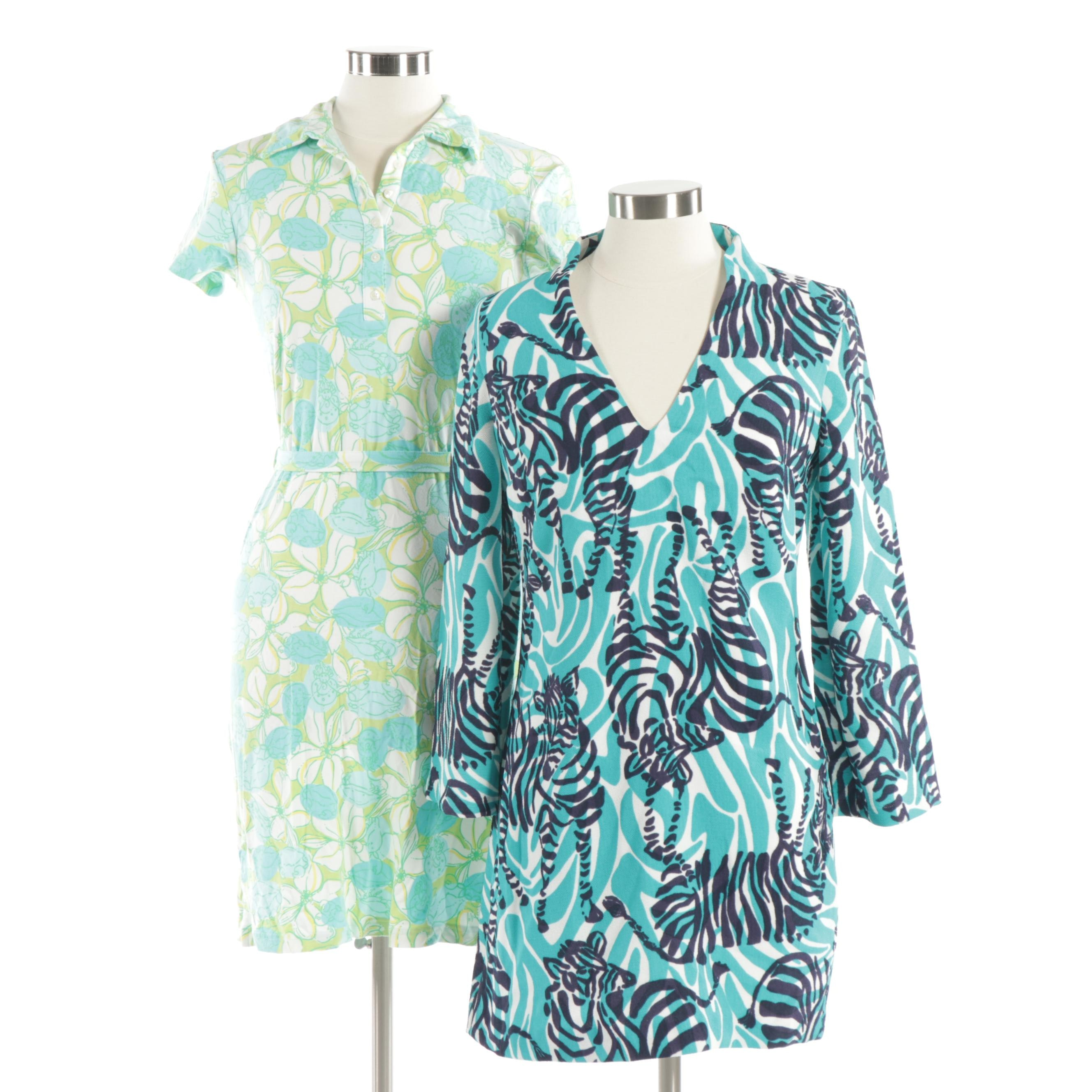 Two Lilly Pulitzer Dresses from the 1990's