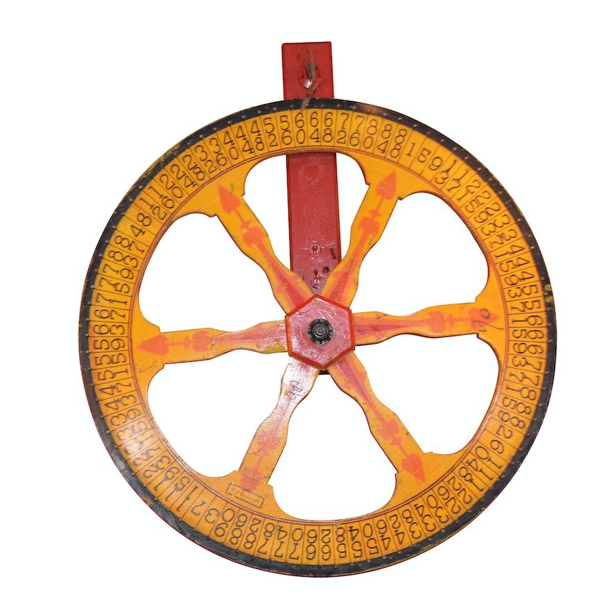 H.C. Evans & Co. Polychrome Gaming Wheel