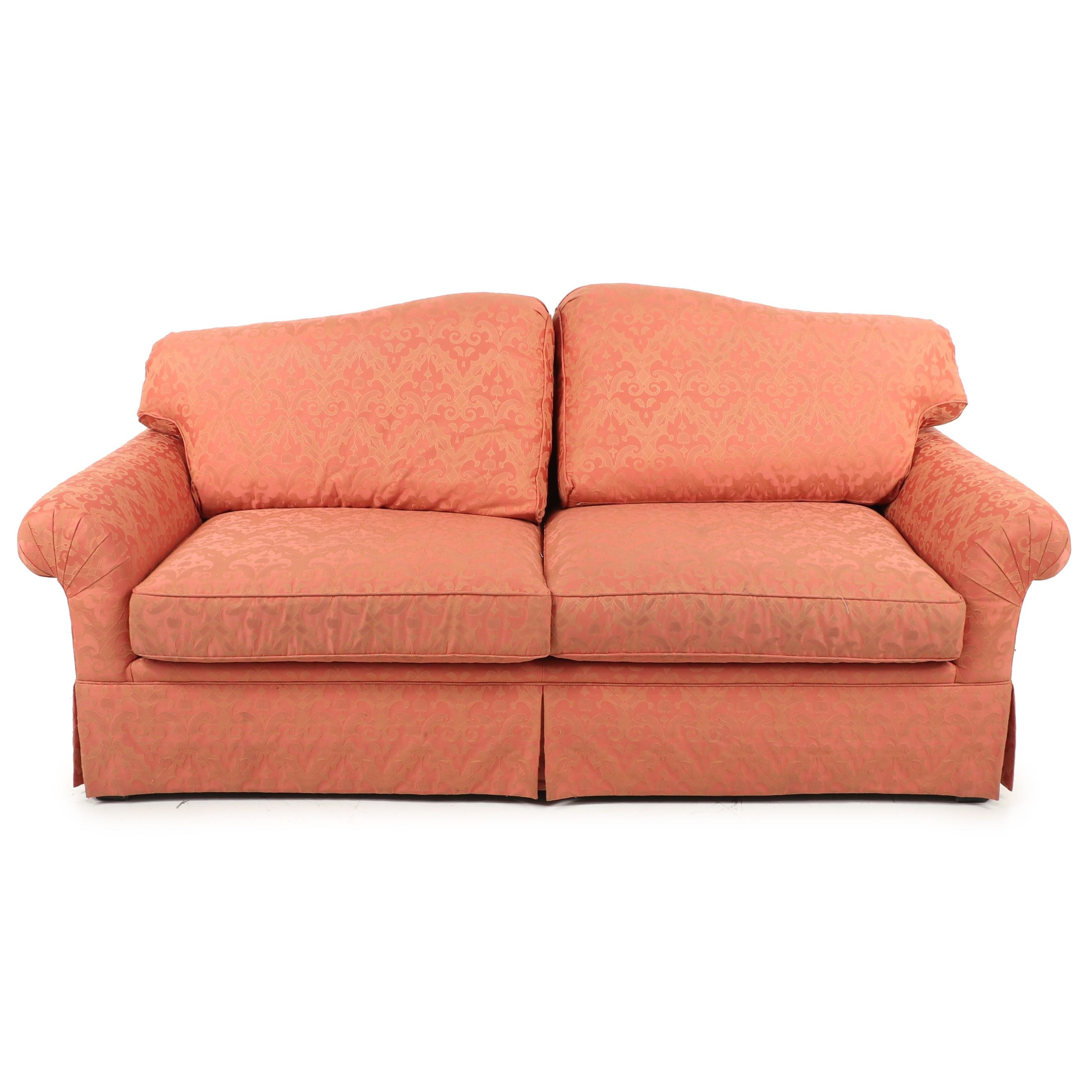 Vintage Salmon toned Sofa