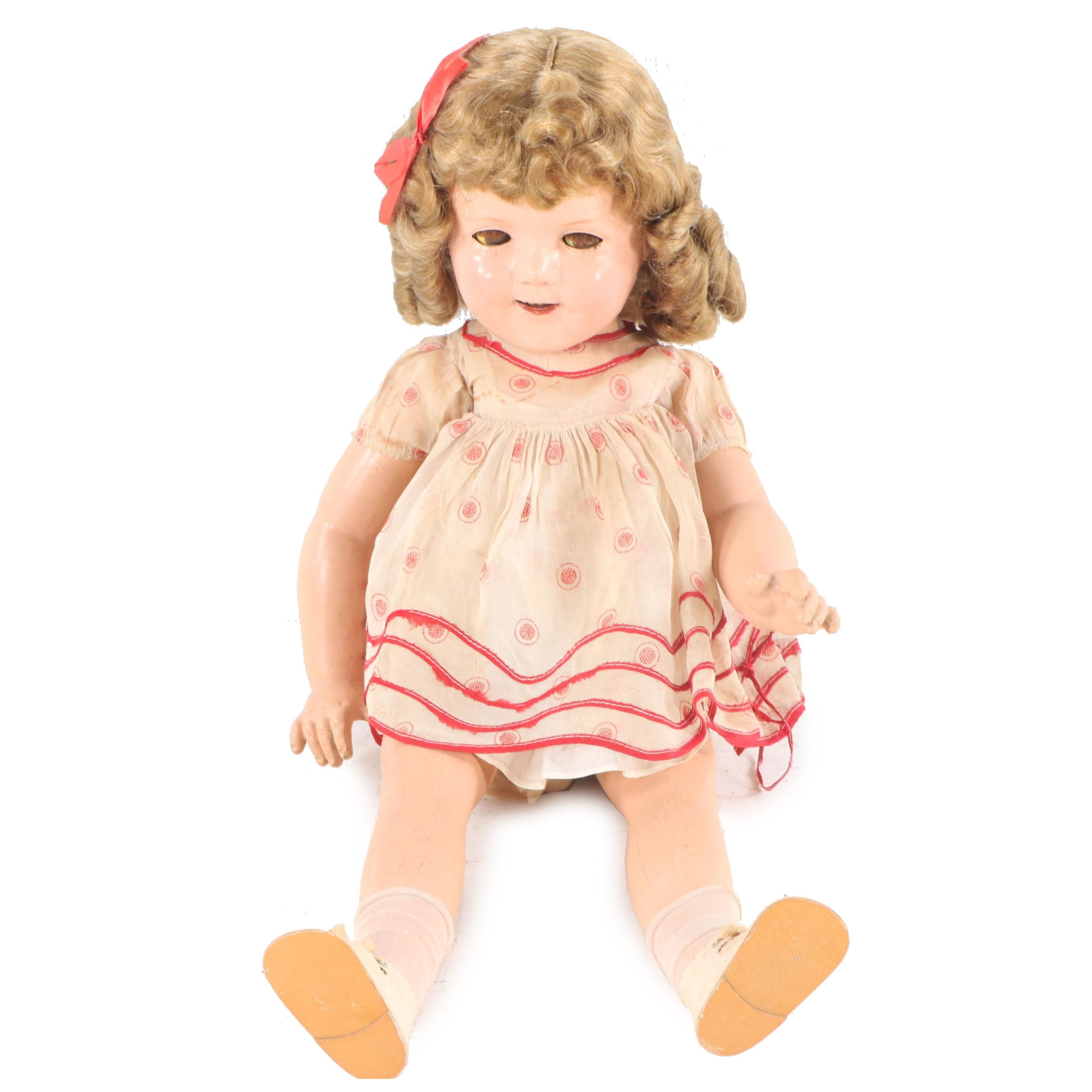 Shirley Temple Doll, circa 1930s