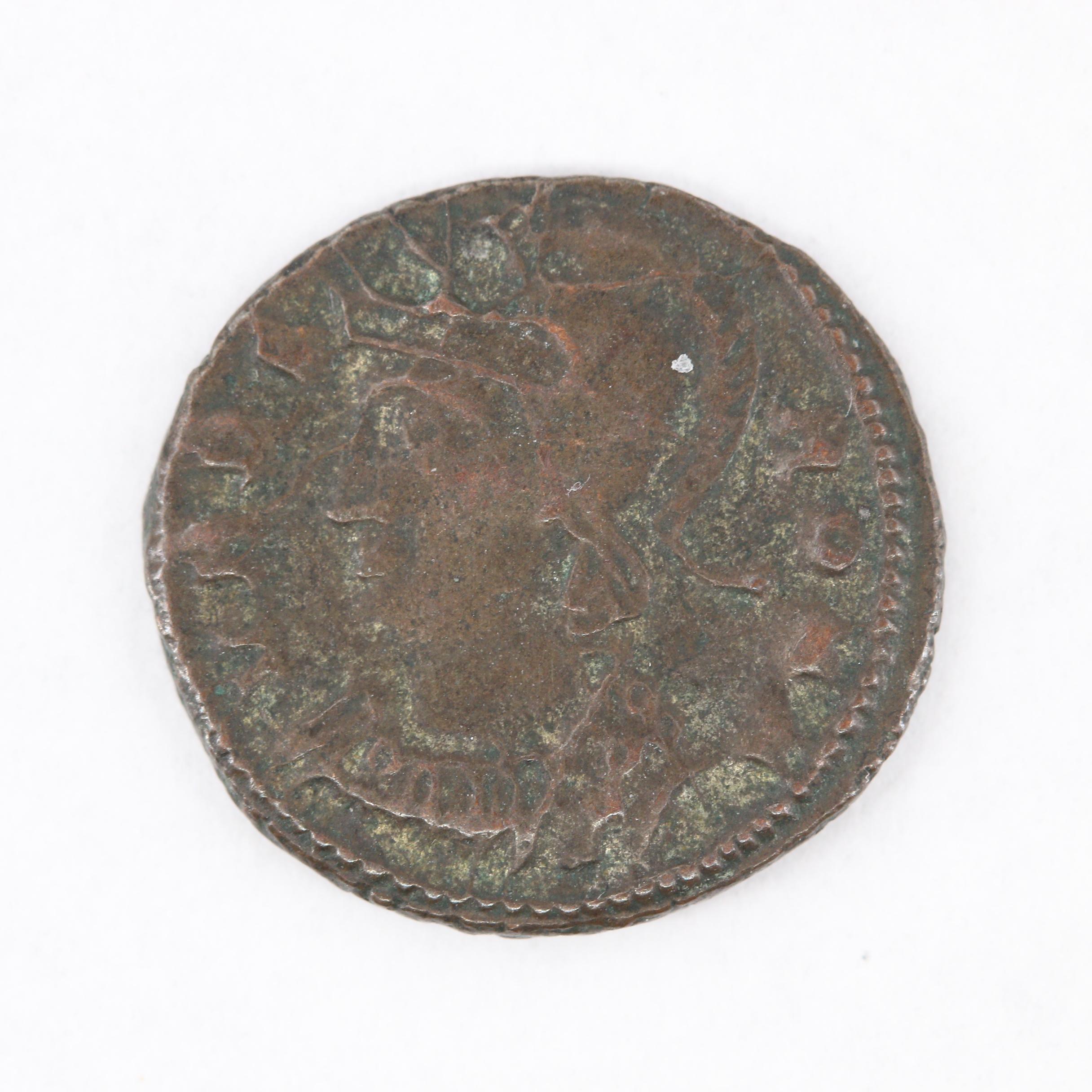 """Urbs Roma"" Commemorative Follis Coin, Constantine ""The Great"", ca. 330 A.D."