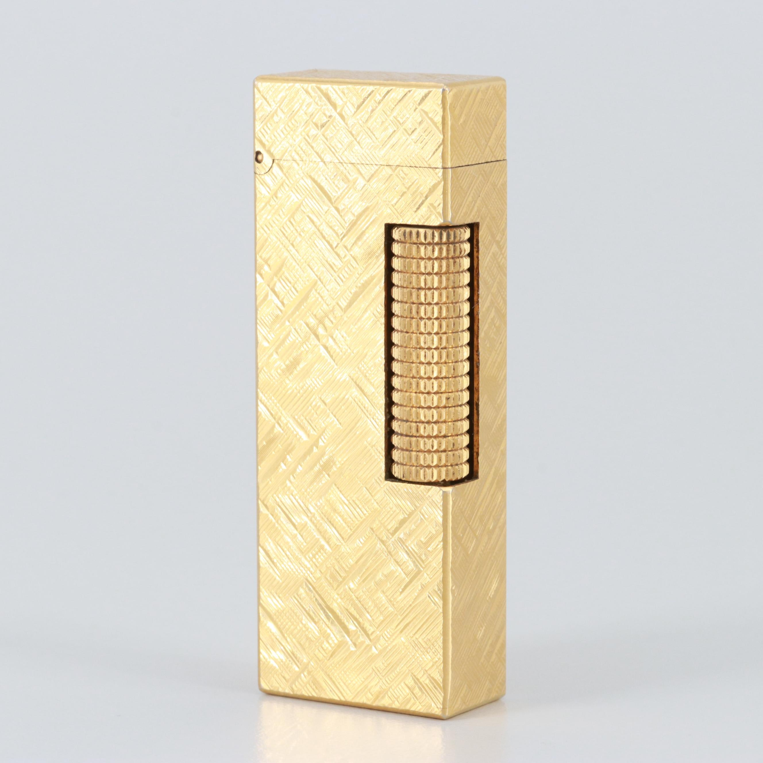 Swiss Made Dunhill Gold Tone Lighter