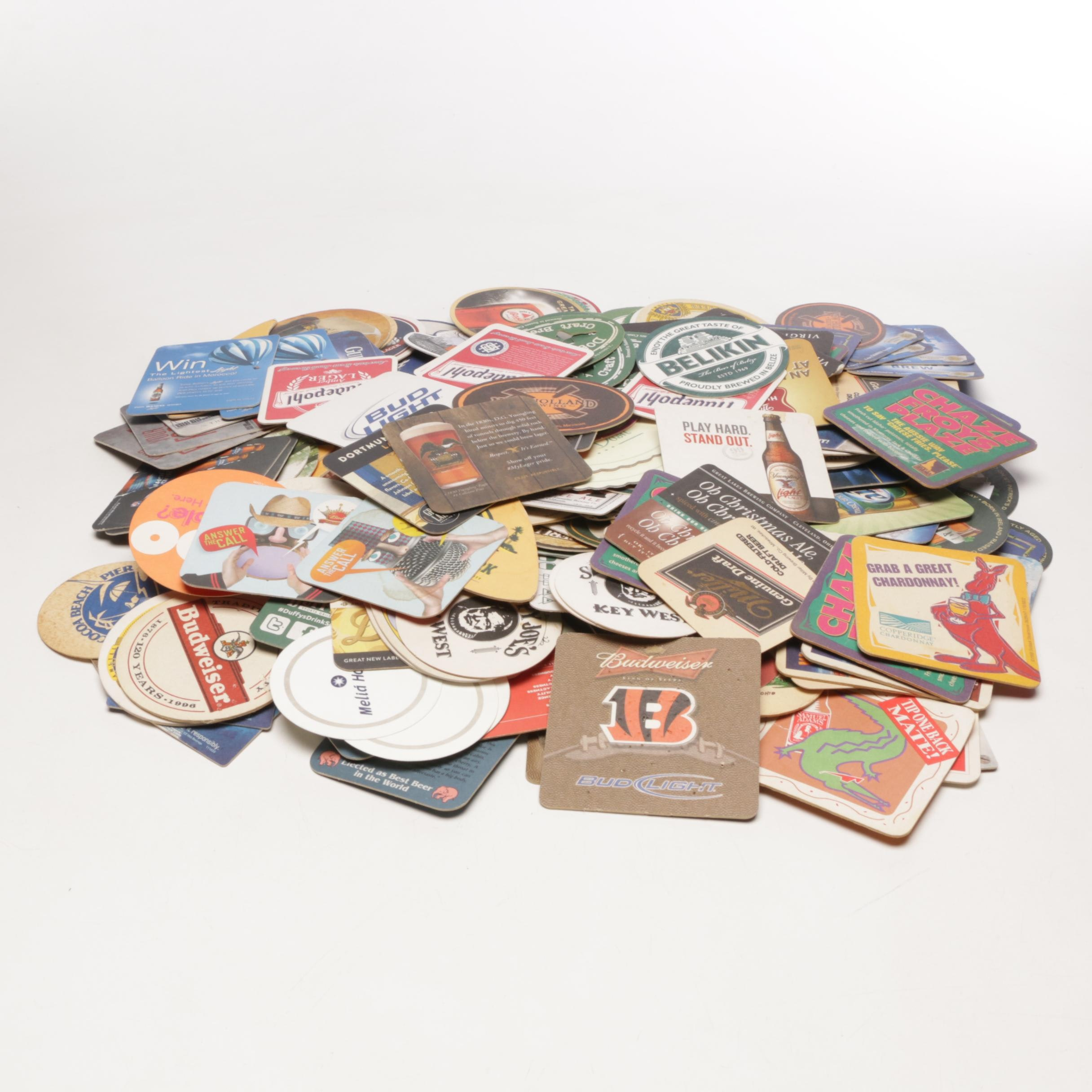 Collection of Brewery and Beer Coasters