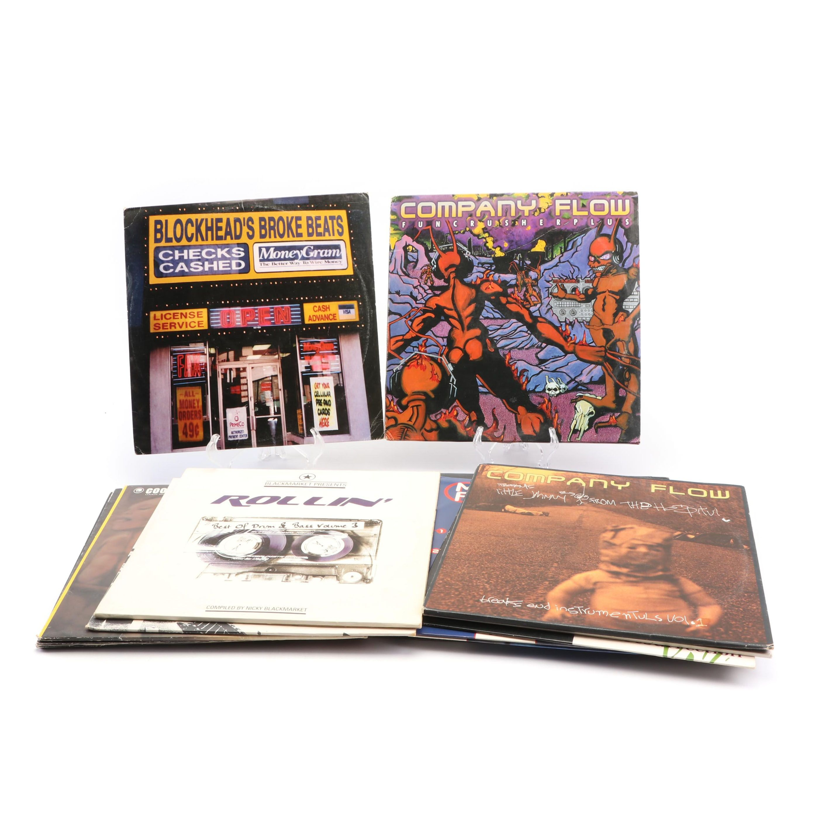 Underground Rap and Hip Hop Records, 1990s-2000s