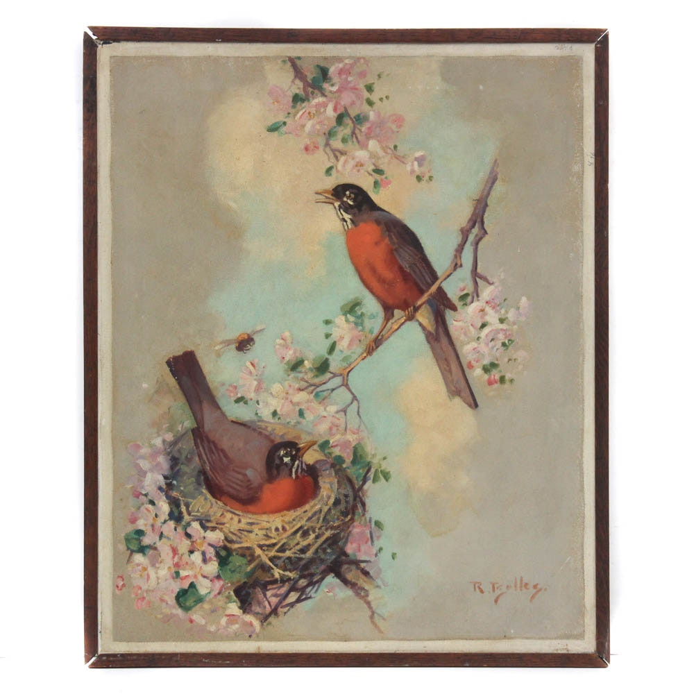 Reginald Bolles Oil Painting