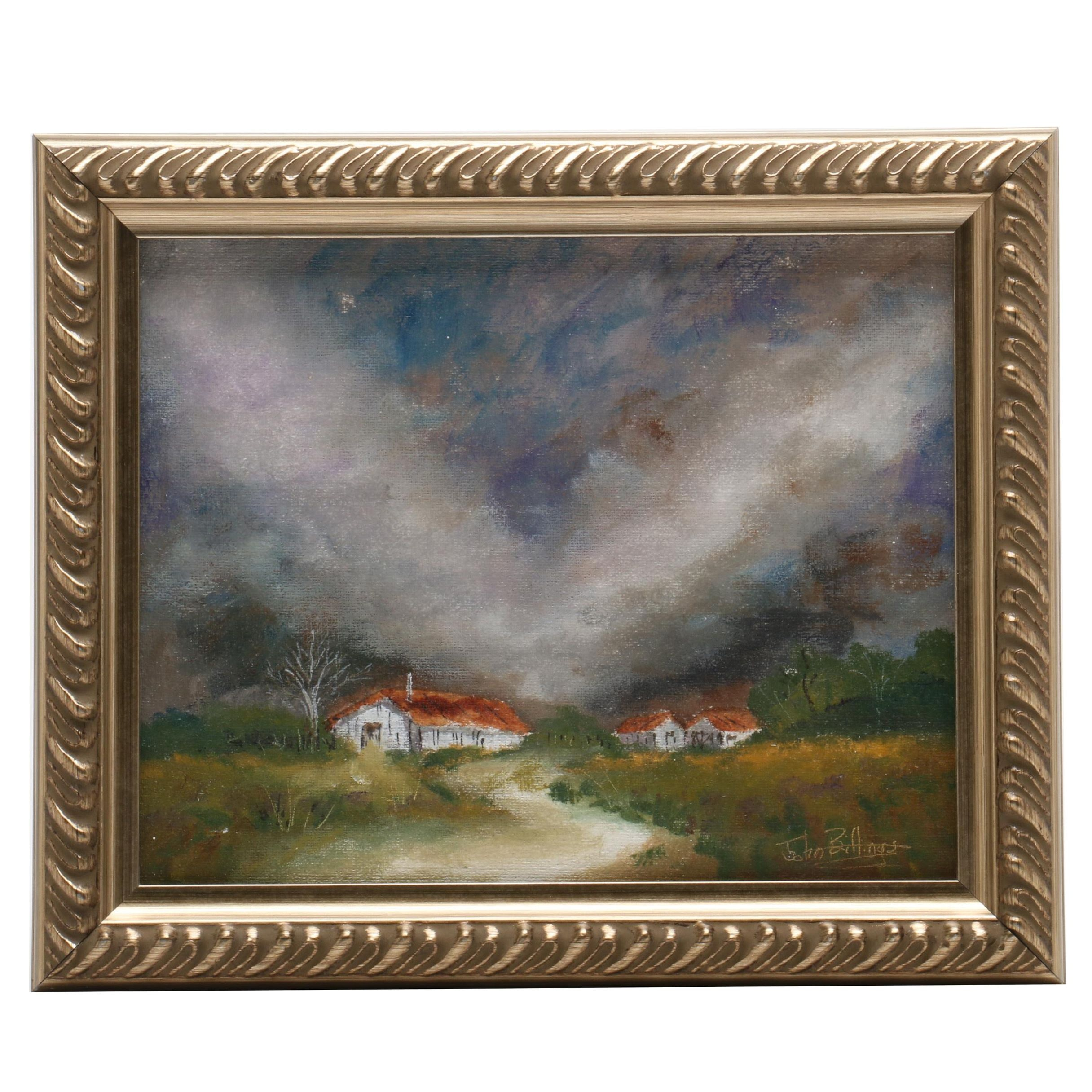 "John Billings Oil Painting ""Summer Morning Storm"""