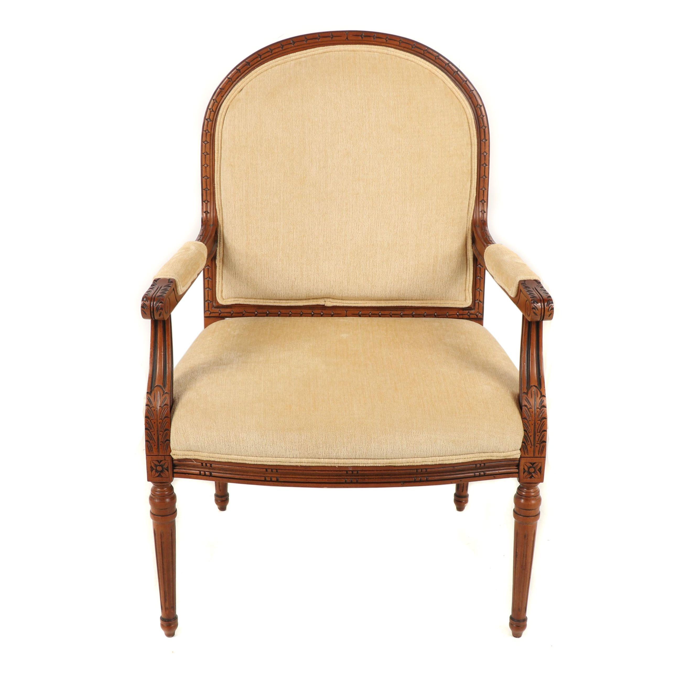Louis XV Style Armchair, Mid to Late 20th Century