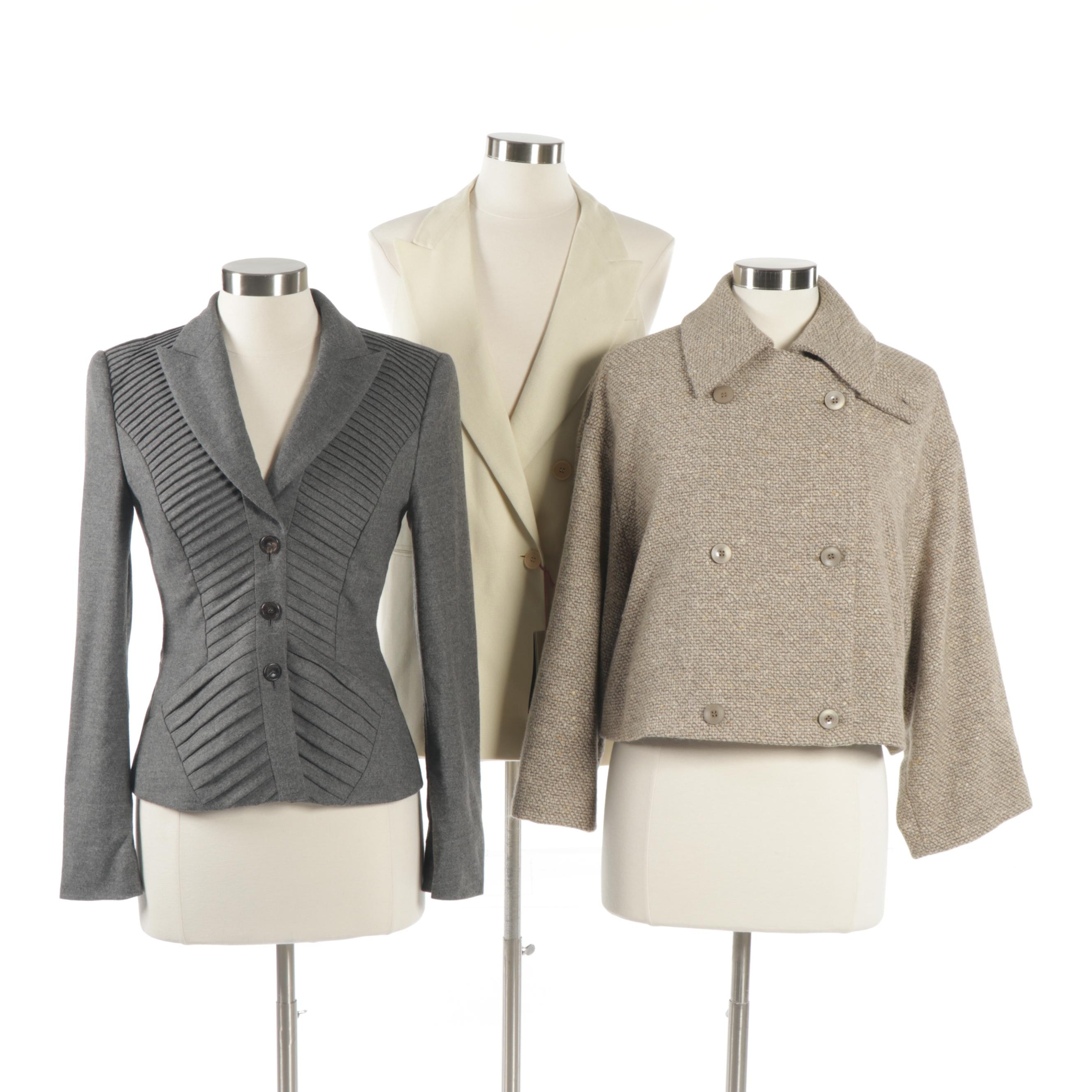 Designer Outerwear Featuring Escada and Stella McCartney