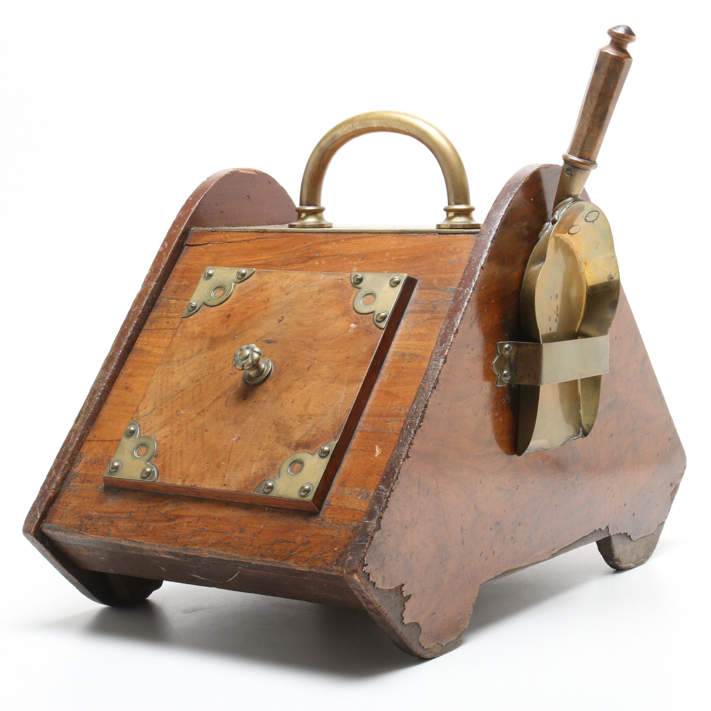 Victorian Coal Scuttle with Scoop