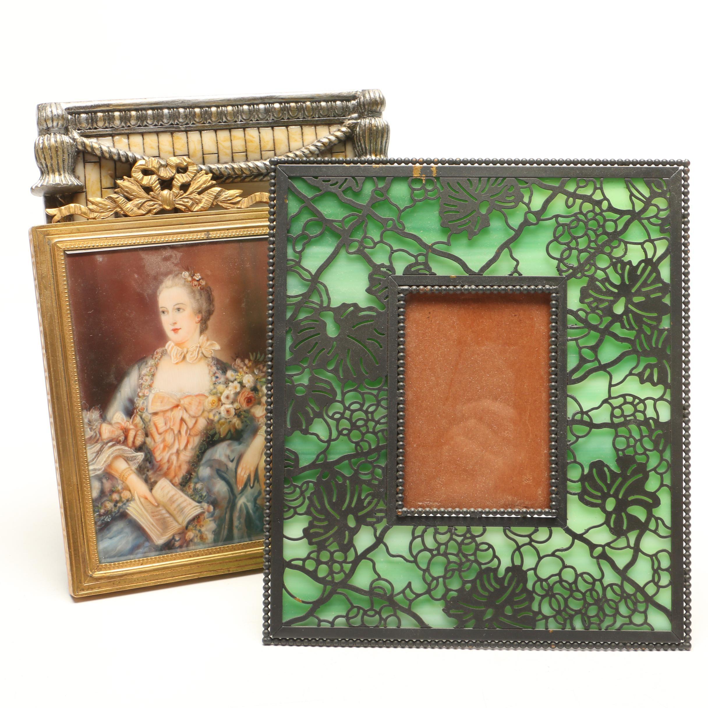 """""""Madame Pompadour"""" Portait and Decorative Frames"""