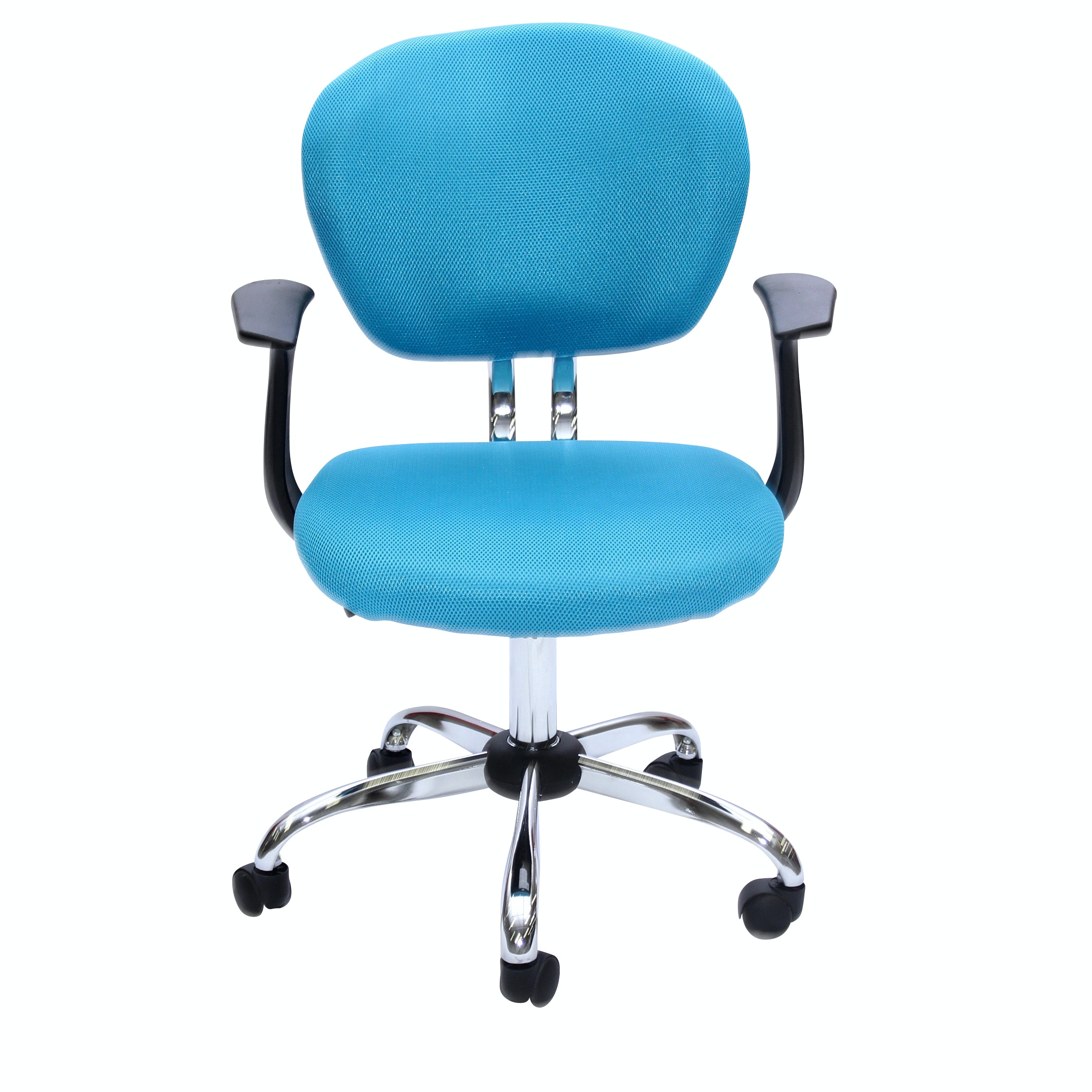 Light Blue Swivel Office Chair, Contemporary