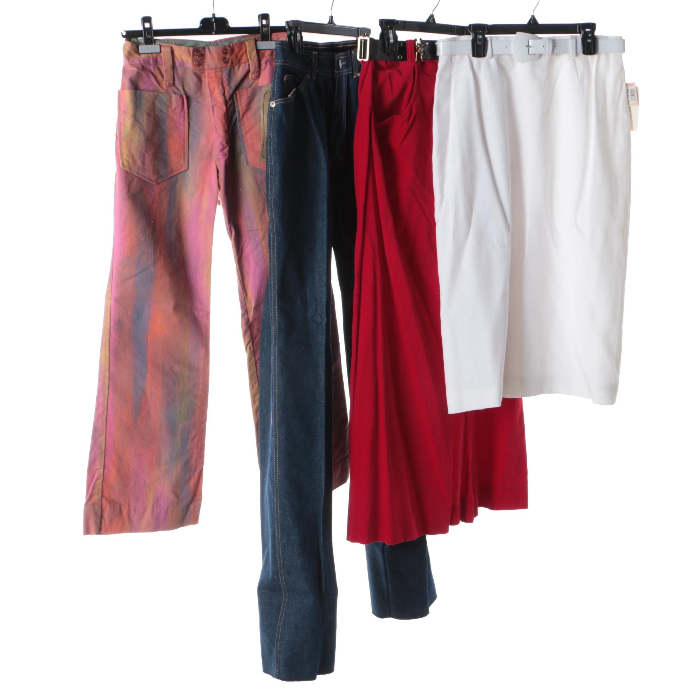 Pants and Skirts Including Oscar de la Renta, Vintage