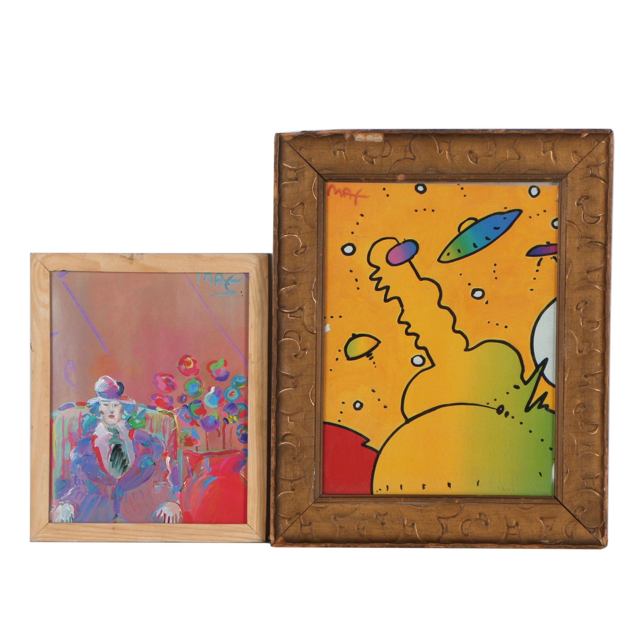 Offset Lithographs after Peter Max