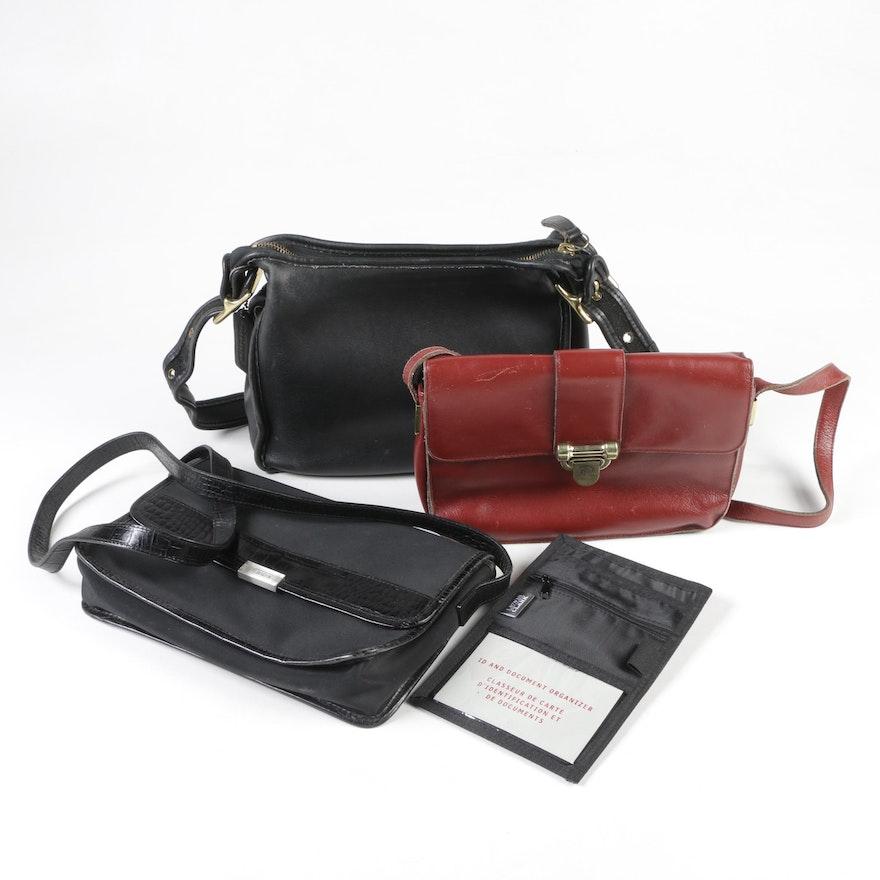 b6a4df88058 Coach, Lauren Ralph Lauren and Etienne Aigner Shoulder Bags, Vintage ...