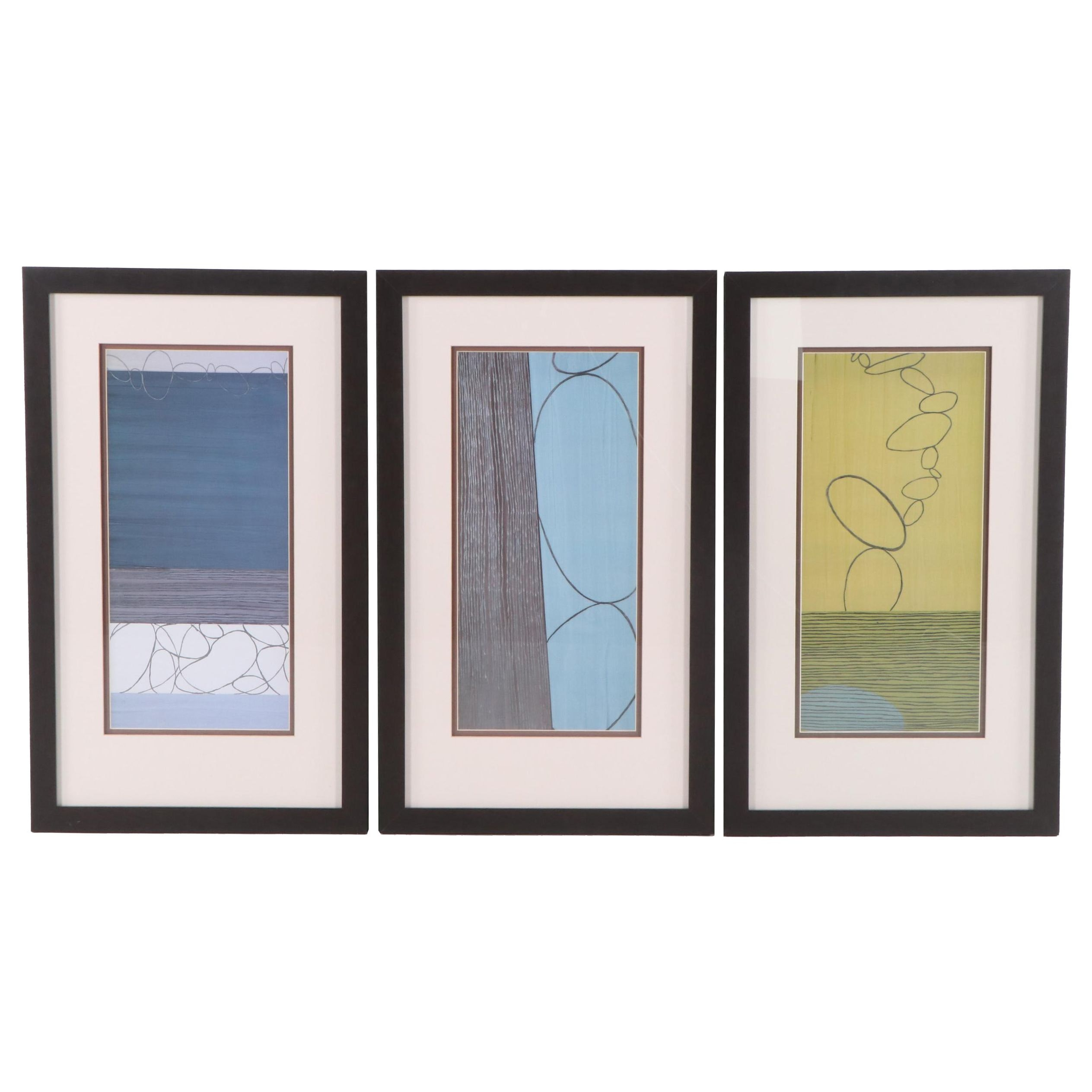 """Marilu Harnett Offset Lithographs from the """"Third Journey"""" Series"""