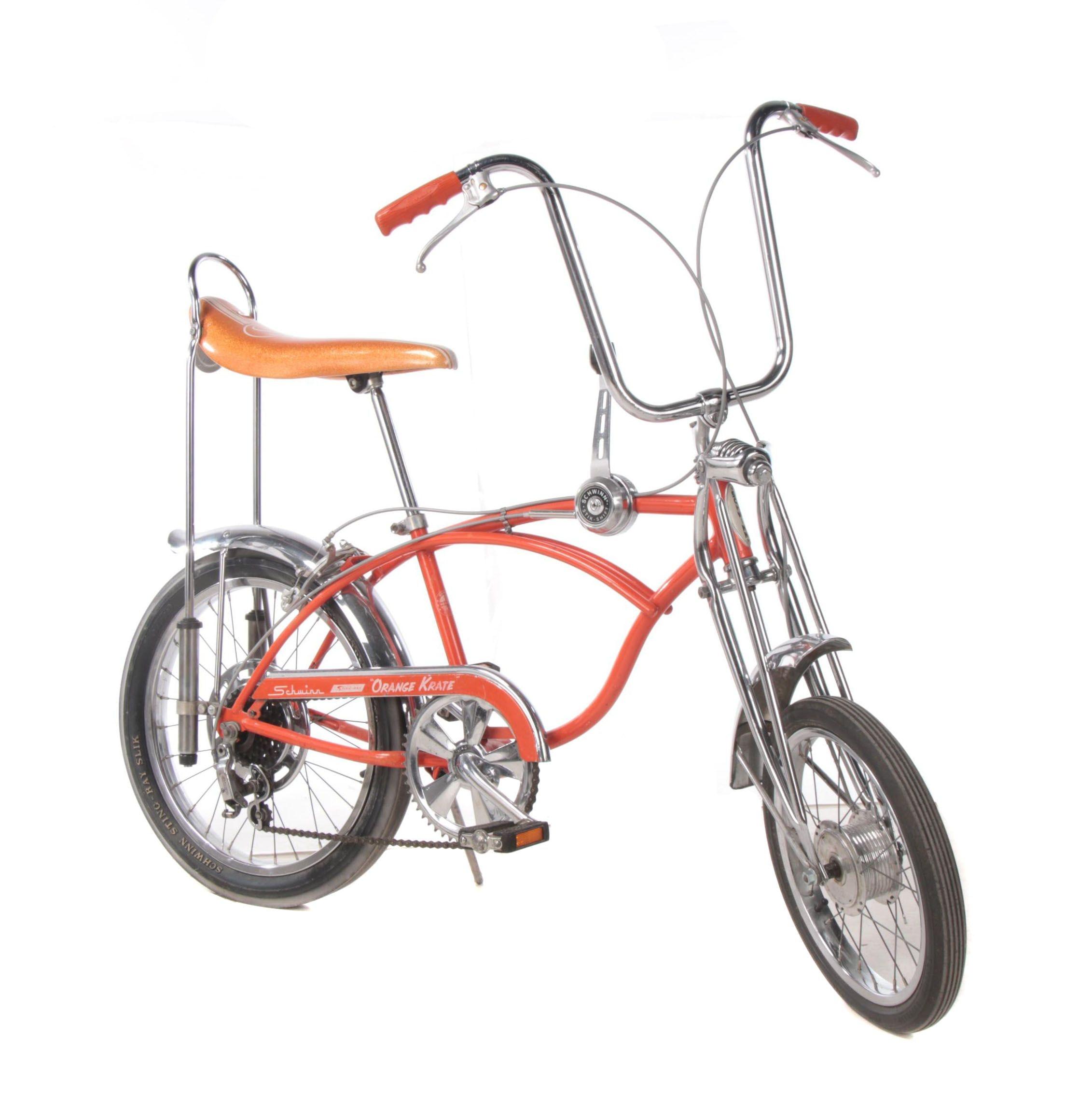 "Schwinn ""Stingray"" Orange Krate  Five-Speed Cruiser Bike, 1968-1971"