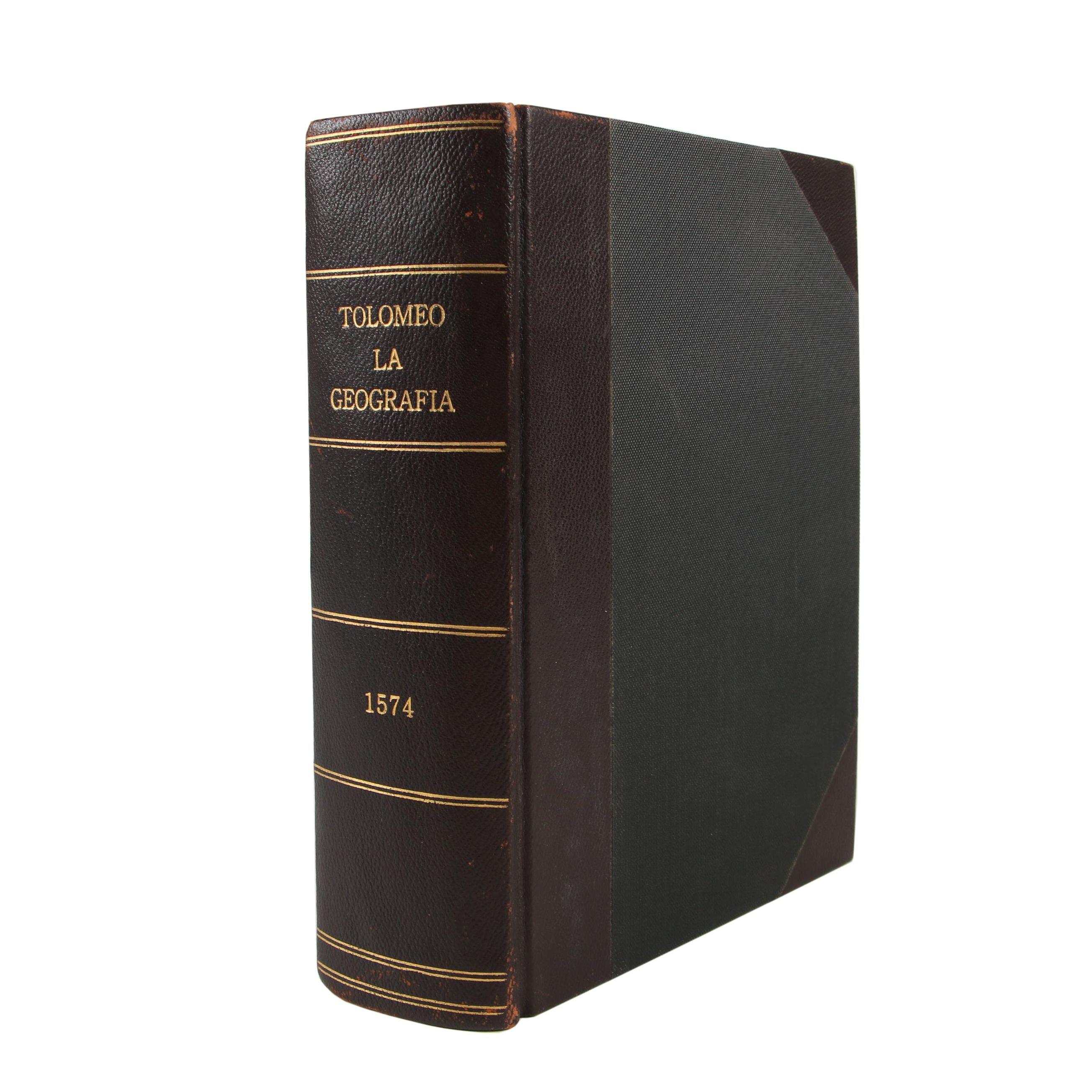 "1574 Ptolemy ""La Geografia"", Third Ruscelli Edition with Complete Maps"