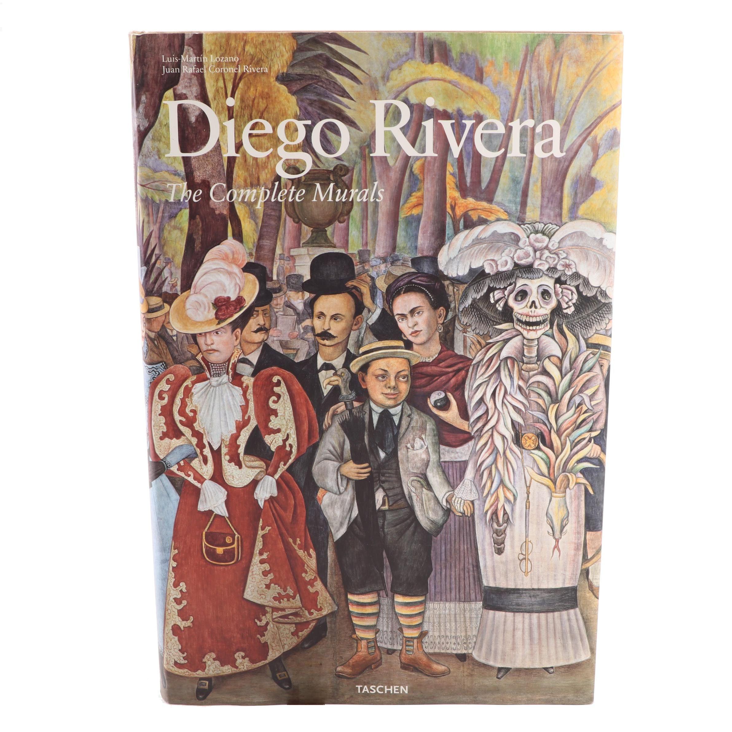 """""""Diego Rivera: The Complete Murals"""" Taschen Art Book"""