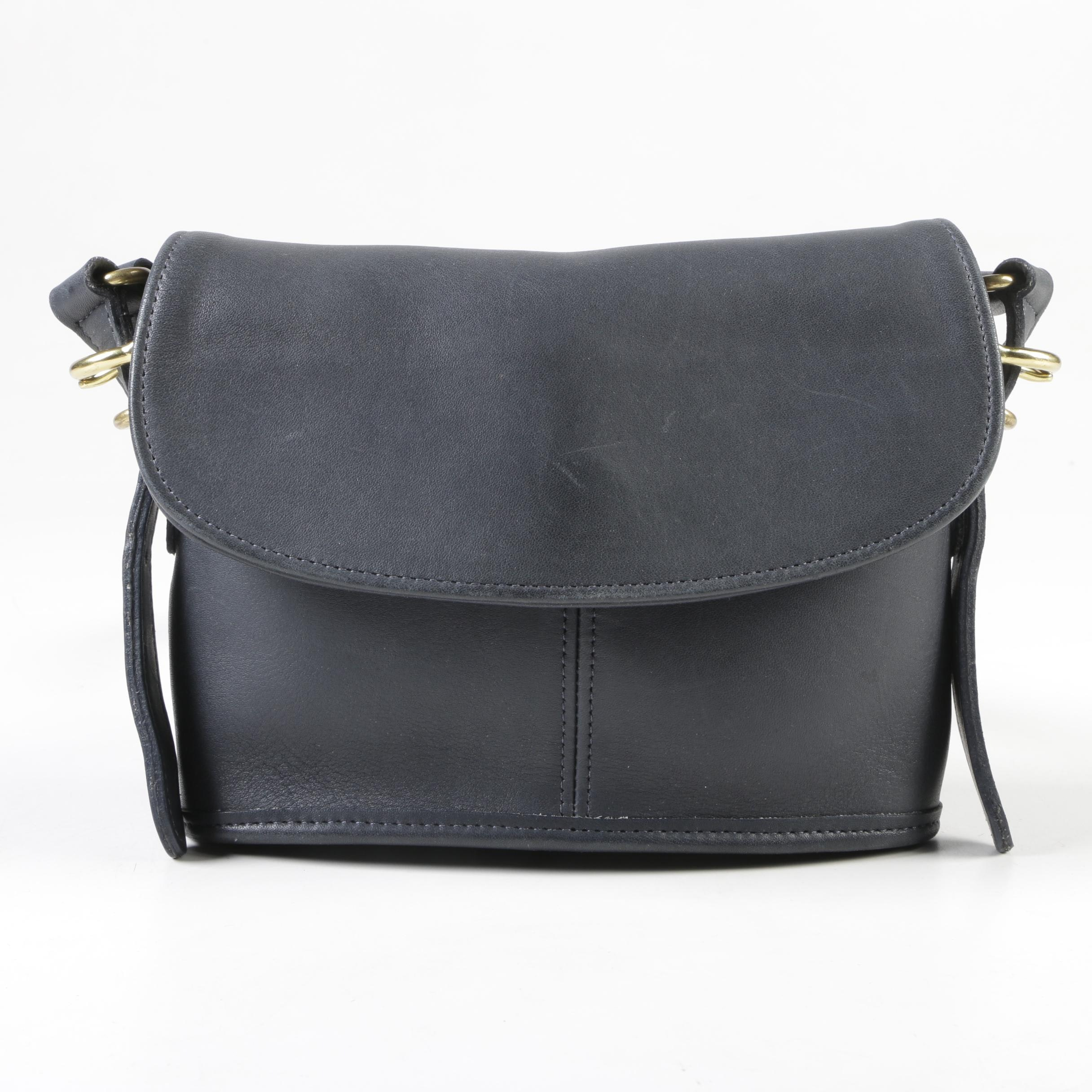 Coach Legacy Leather Flap Front Crossbody Bag