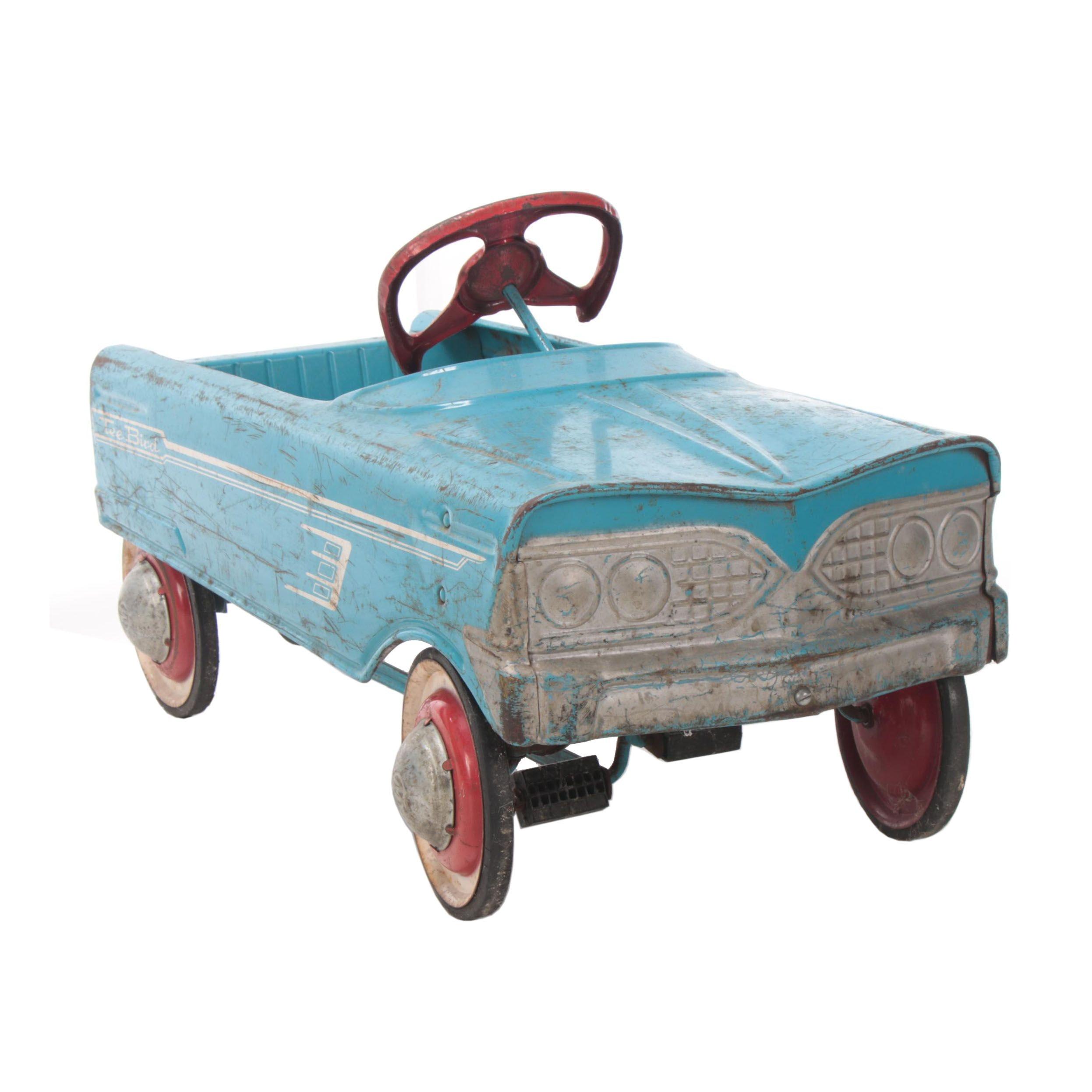 "Murray ""Tee Bird"" Pressed Steel Pedal Car, 1960s"