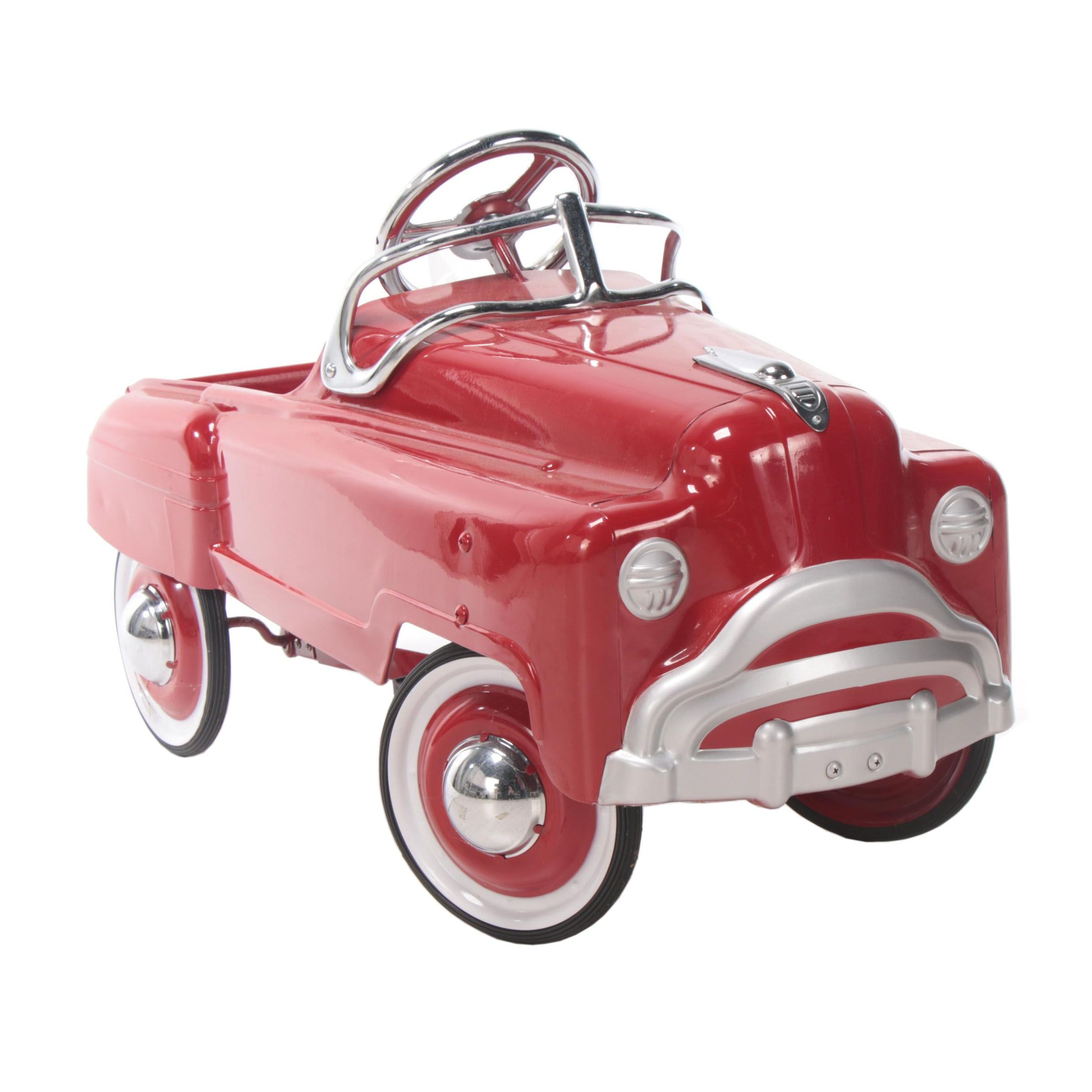 1950s Style Pressed Steel Pedal Car