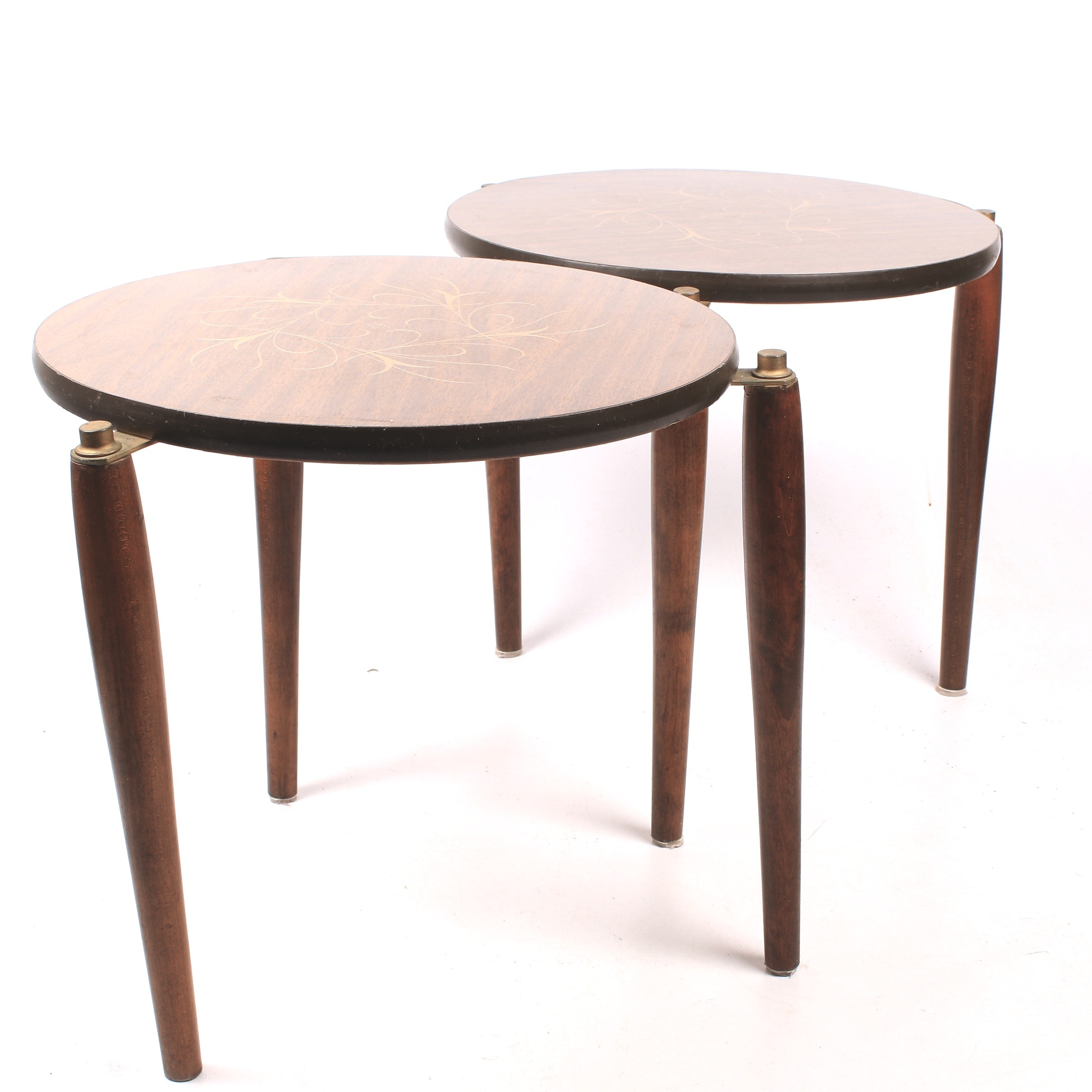 Mid-Century Stacking Side Tables