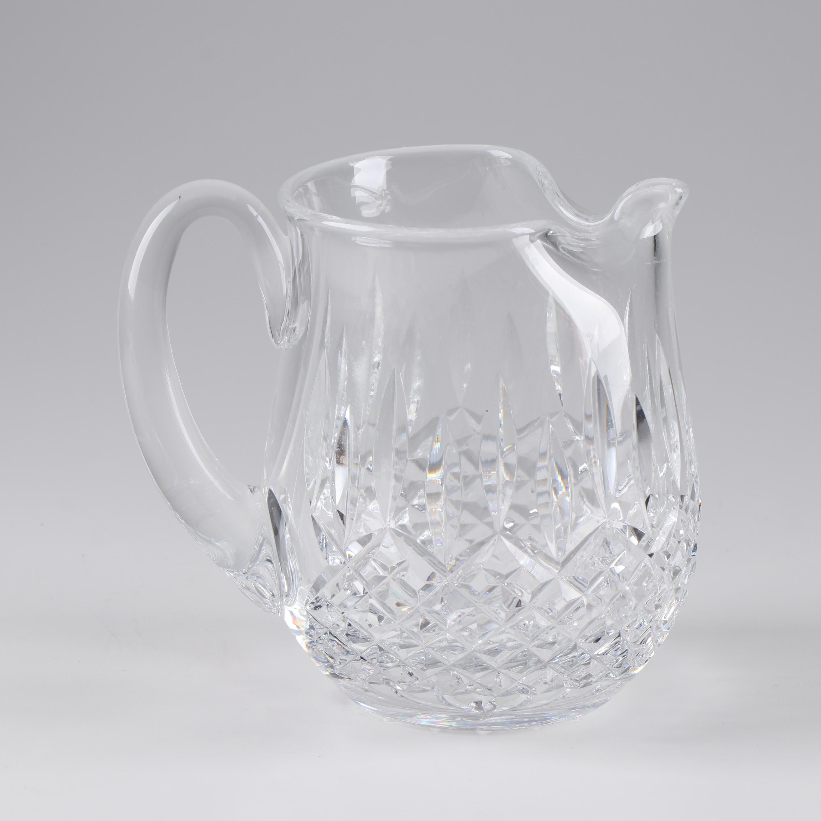 """Waterford """"Lismore"""" Pitcher"""