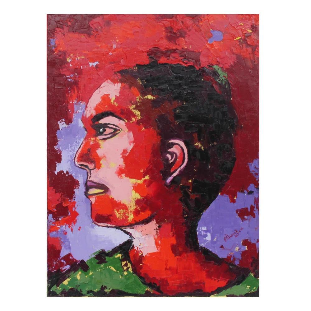 Oluwakemi Omowaire Oil Painting