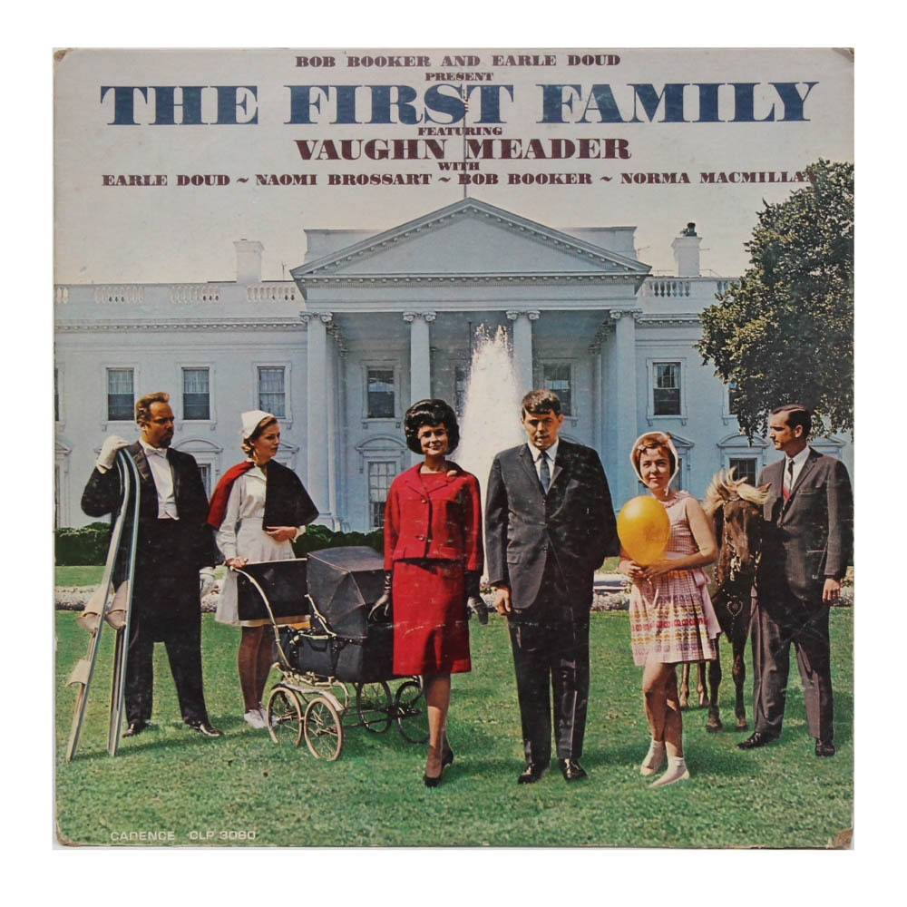 """The First Family"" Comedy Record Album Featuring Vaughn Meader, 1962"