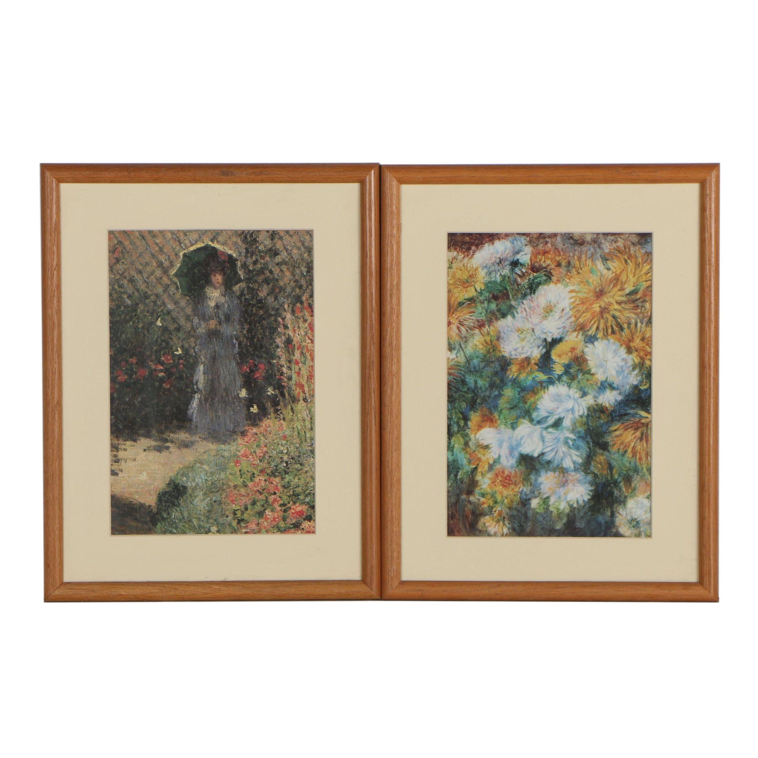 Offset Lithographs after Monet and Renoir