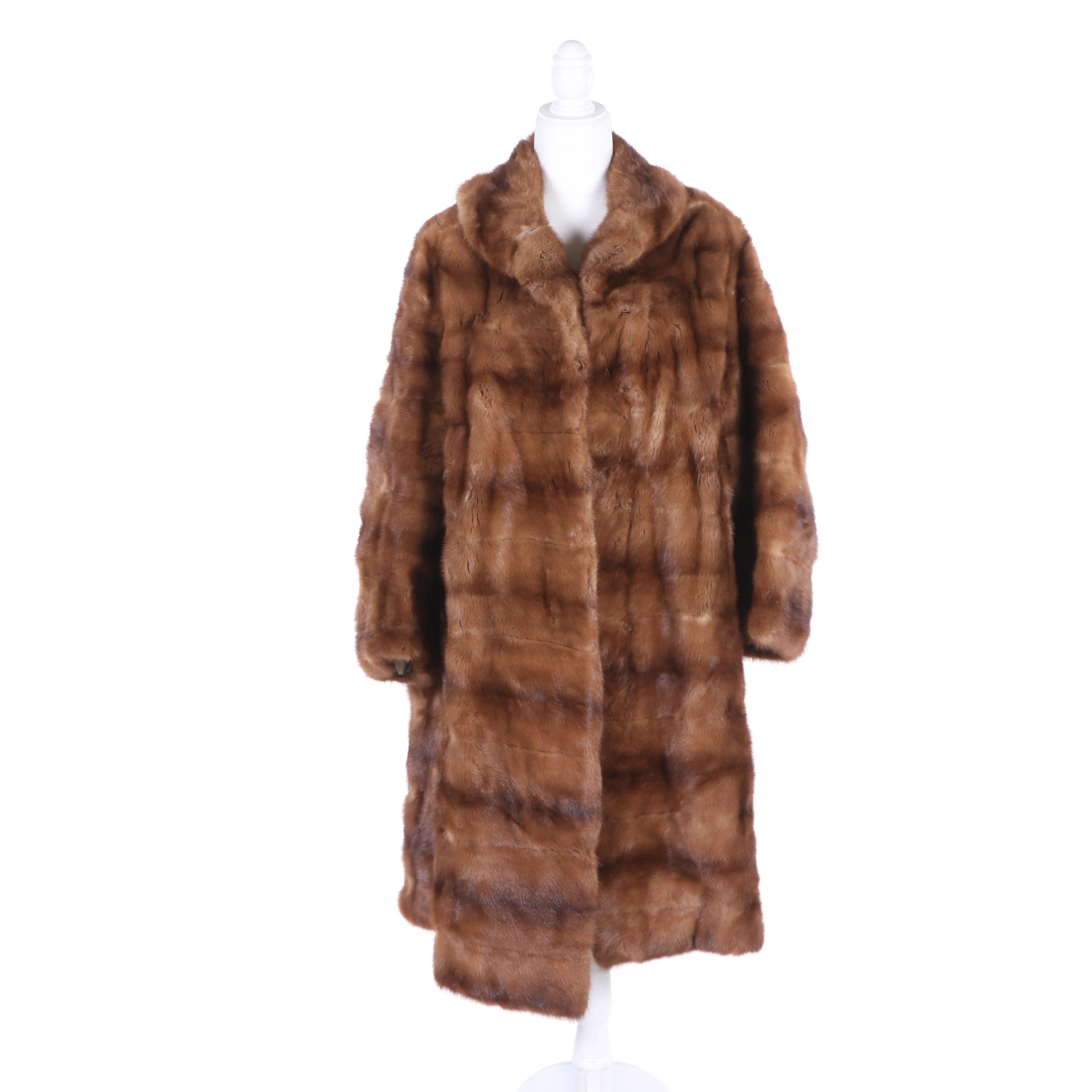 Women's Mink Fur Coat, Vintage