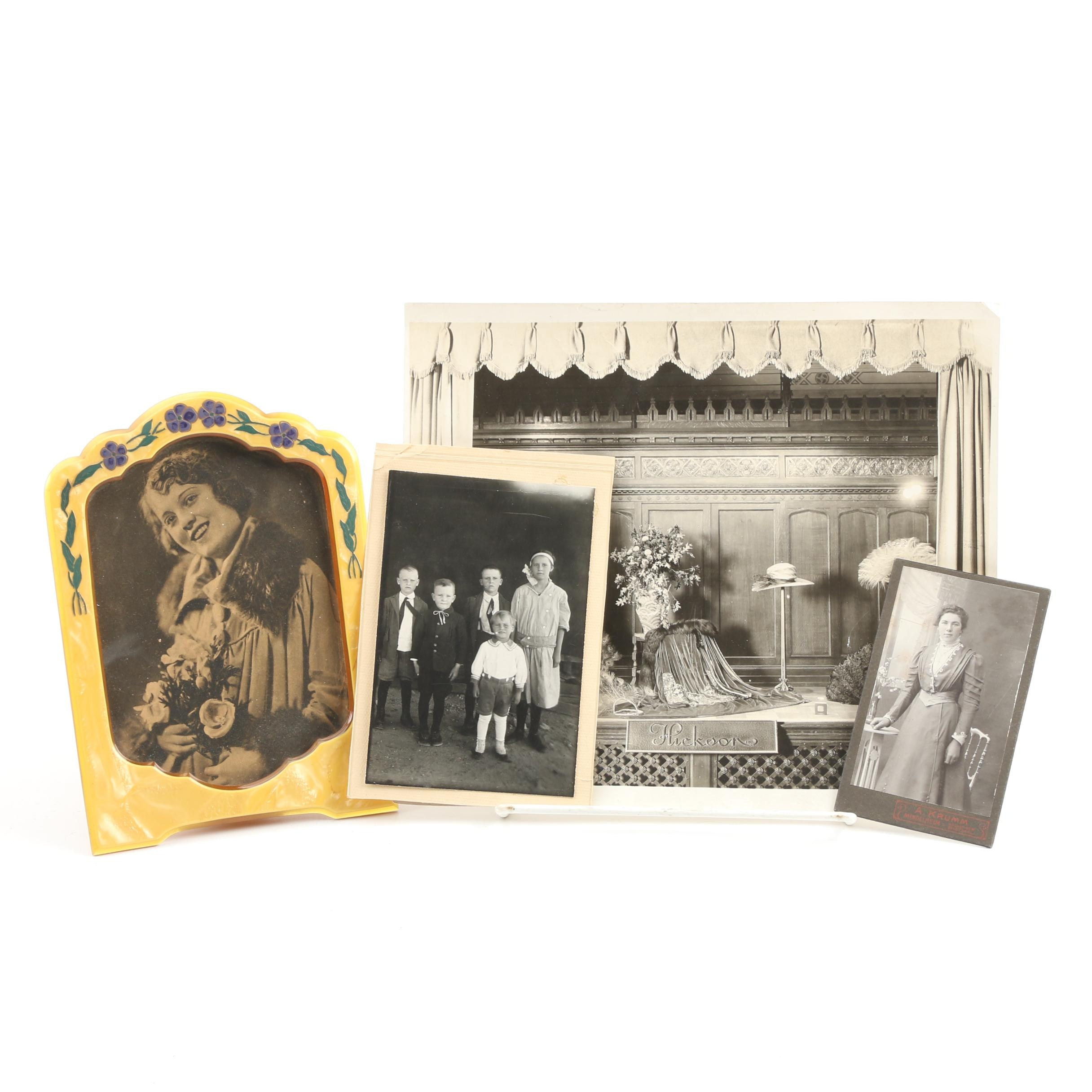 Antique Photographs Including Hickson's Window Display