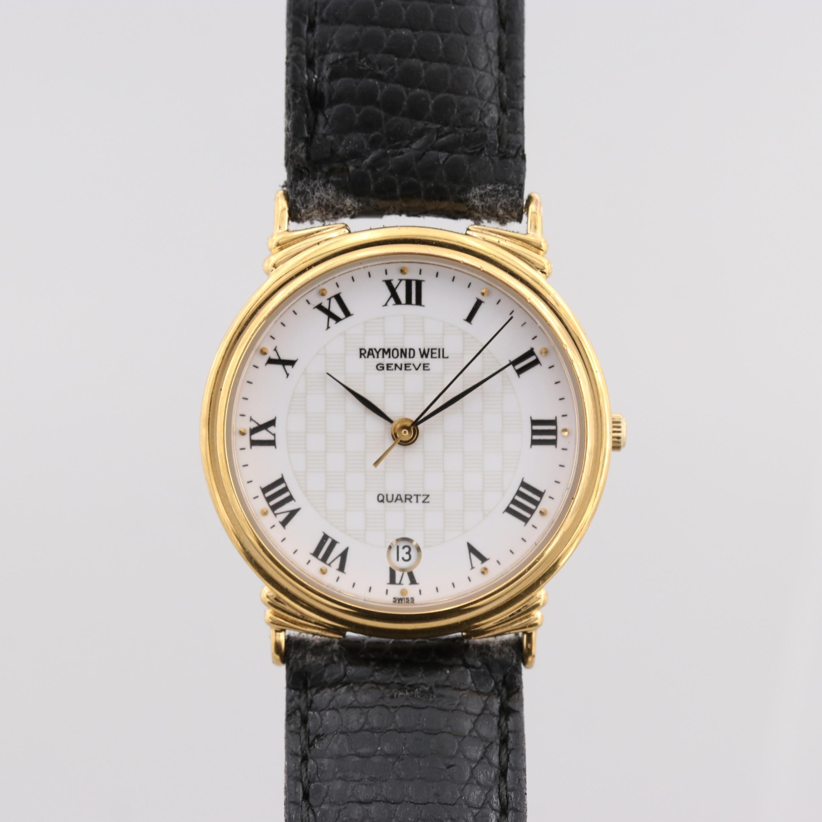 Raymond Weil Tradition Gold Tone Quartz Wristwatch