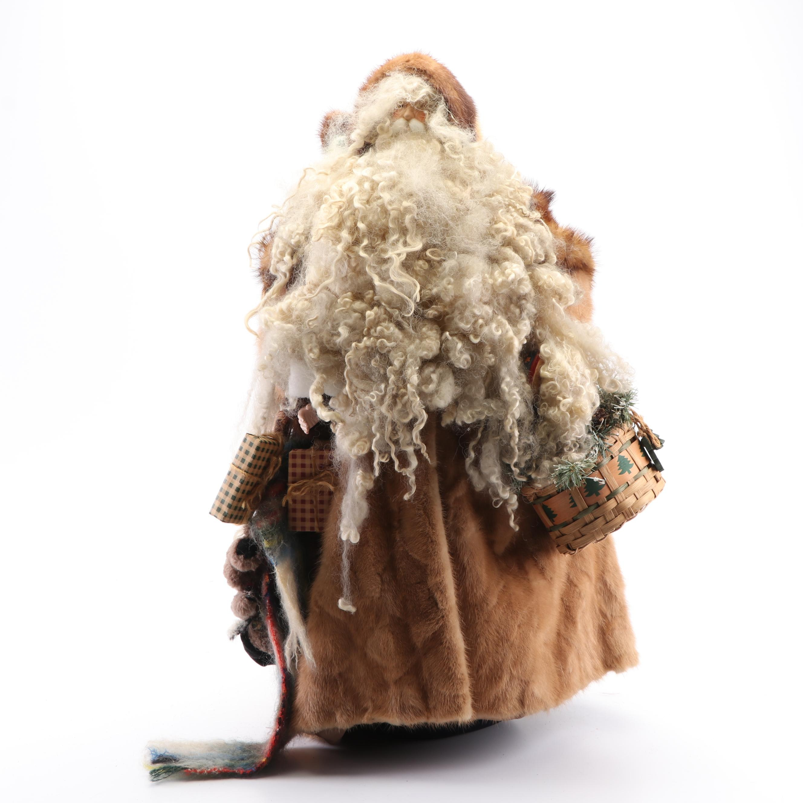 Handmade Mink Coat Santa Claus