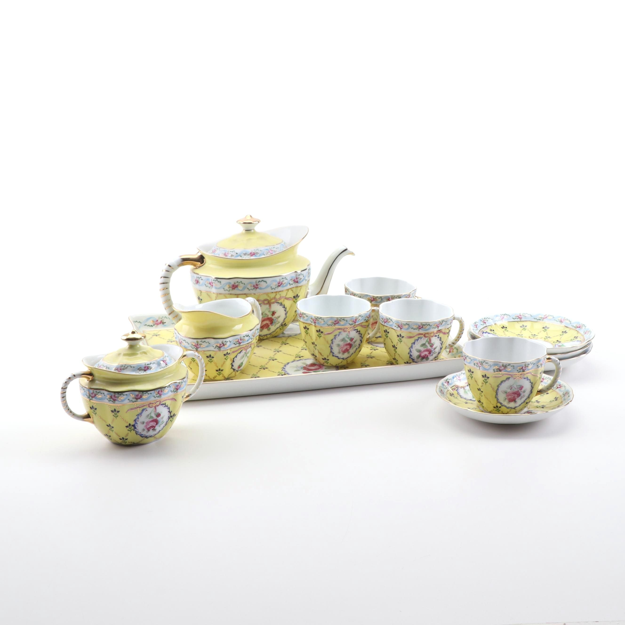 Royal Danube Porcelain Tea Set