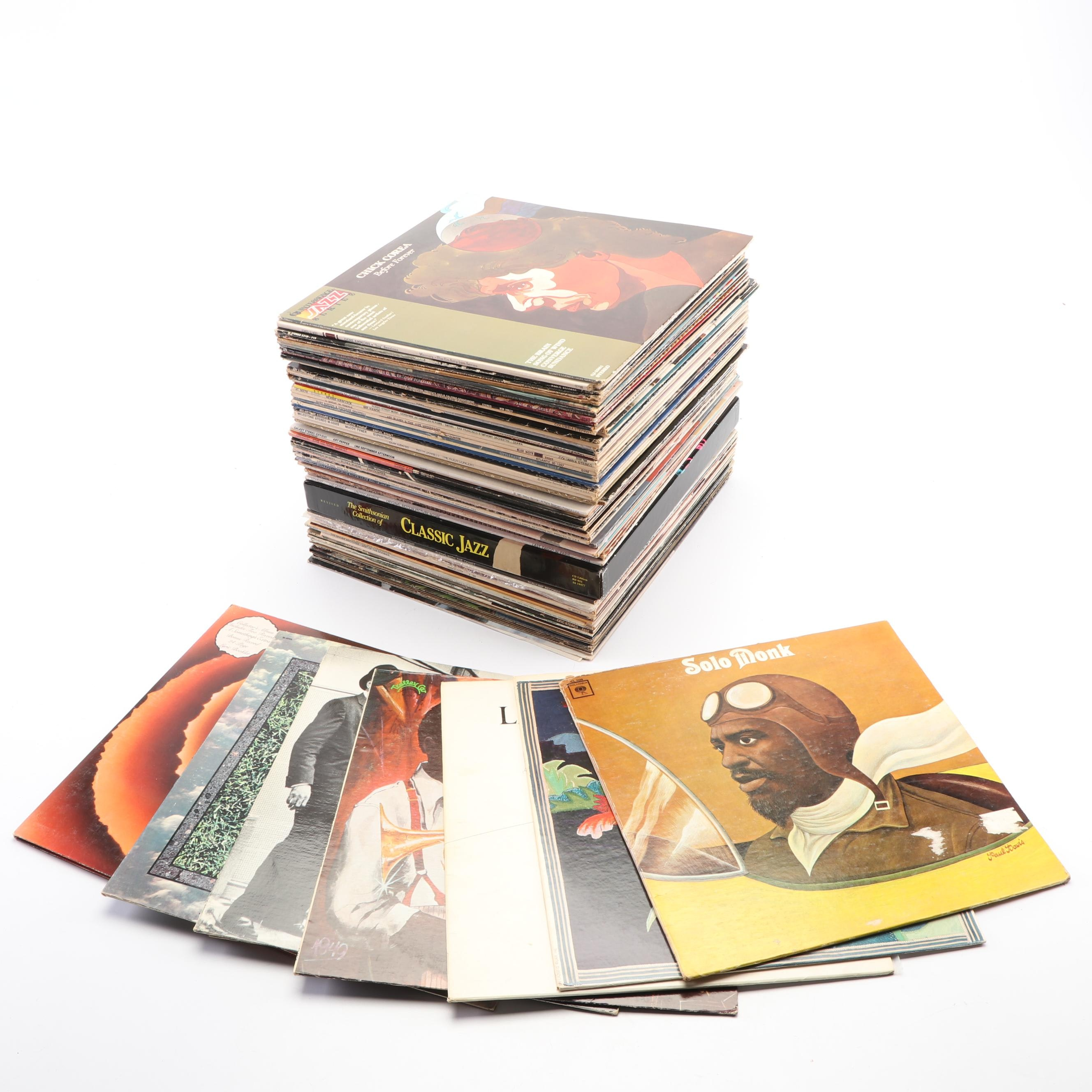 Large Collection of Records, 1970s-1980s