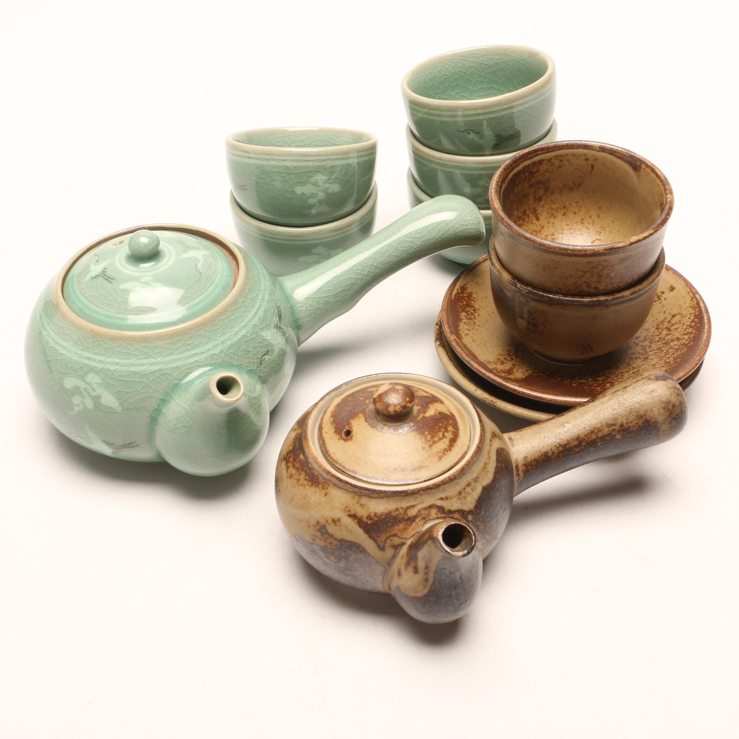 Korean and Japanese Tea Services