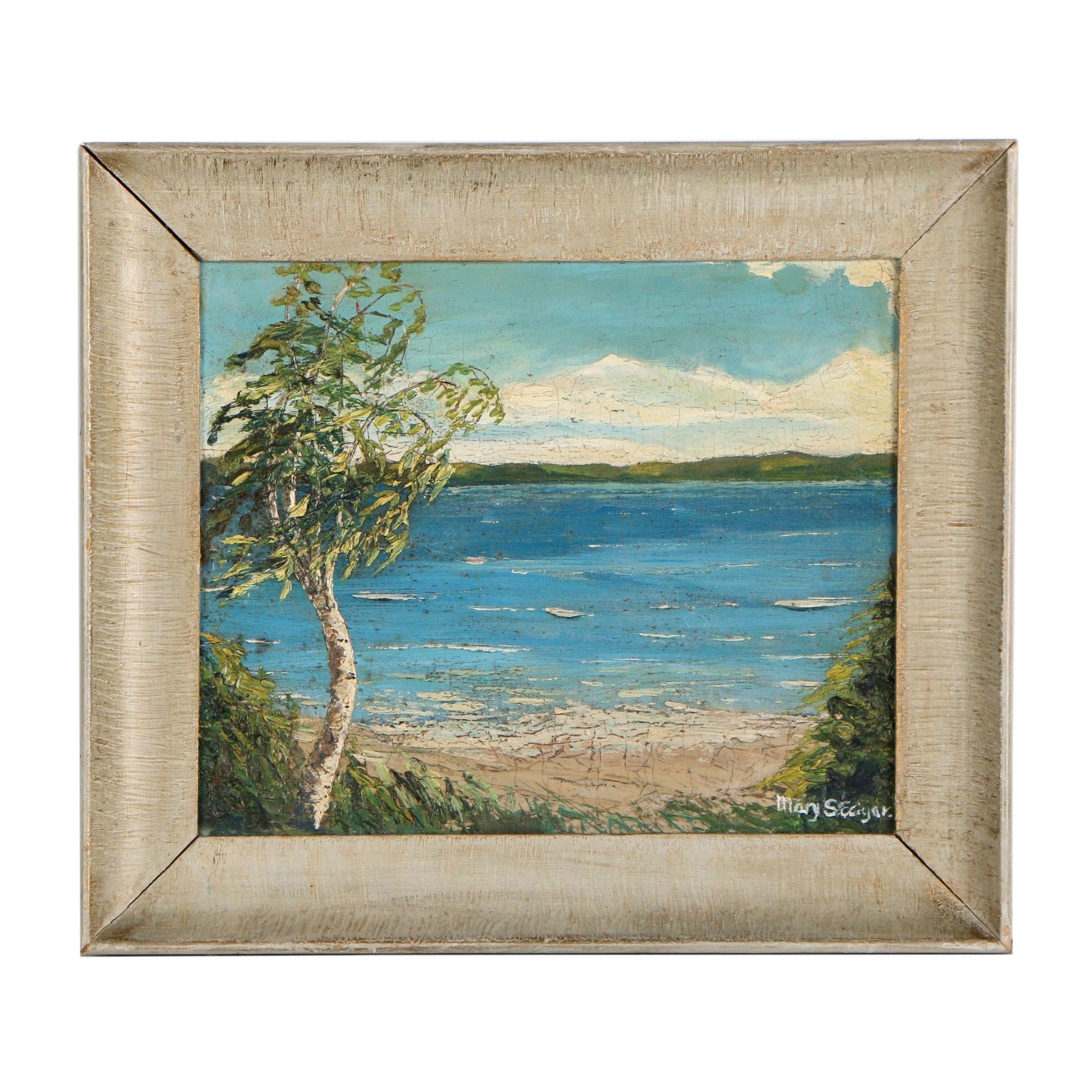 Mary S. Edgar Oil Painting