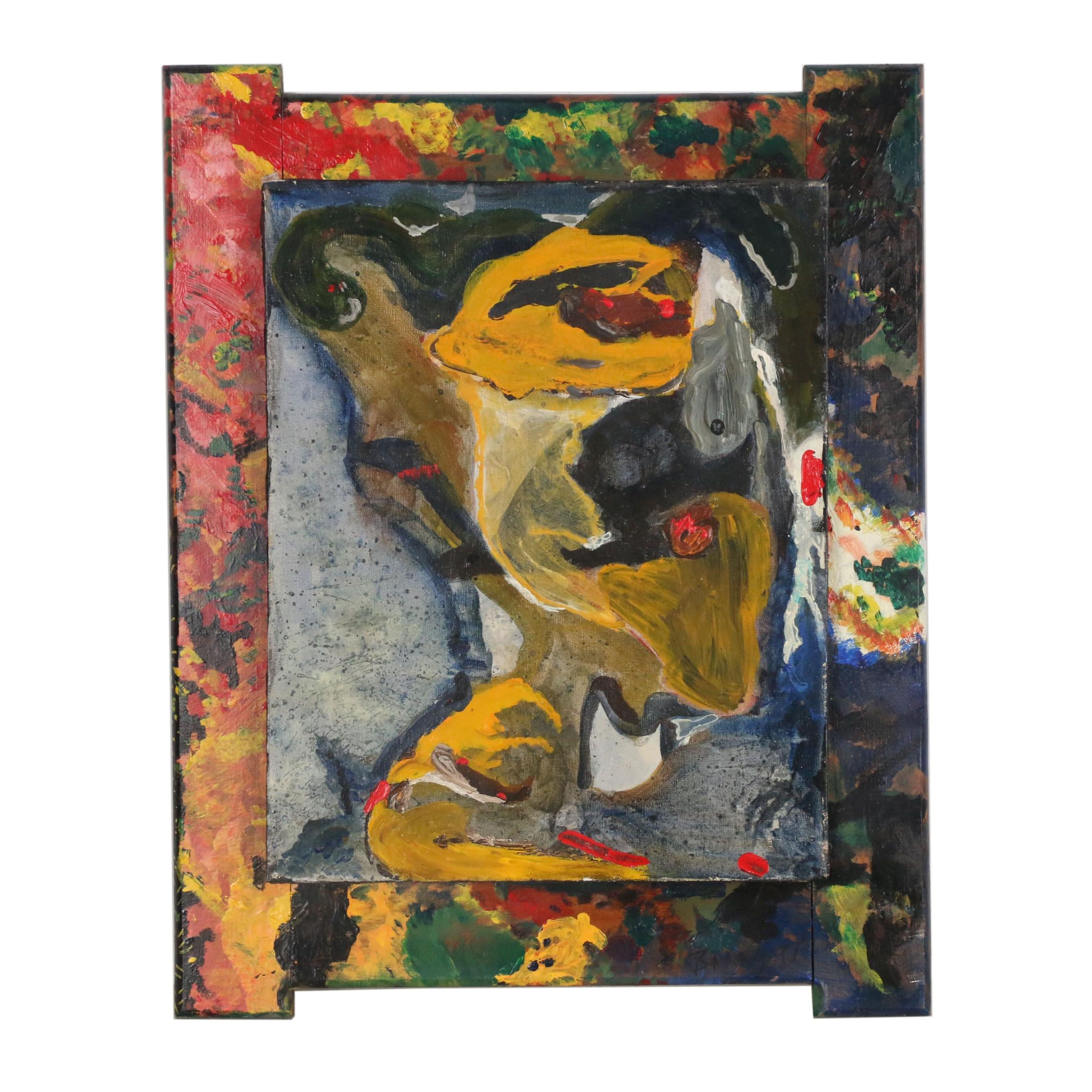 Abstract Oil Painting, 1997