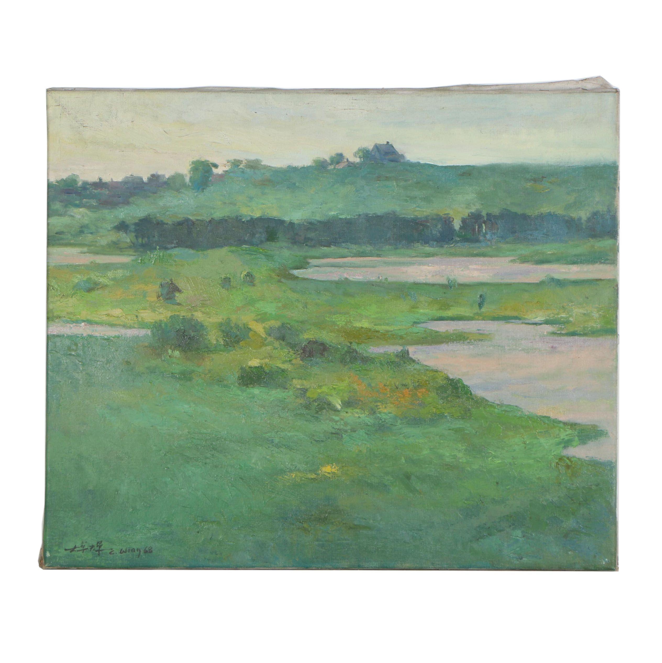 Chuck Wong Landscape Oil Painting
