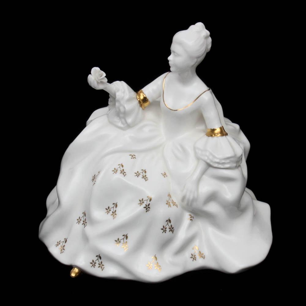 "Royal Doulton Porcelain Figurine ""Antoinette"""