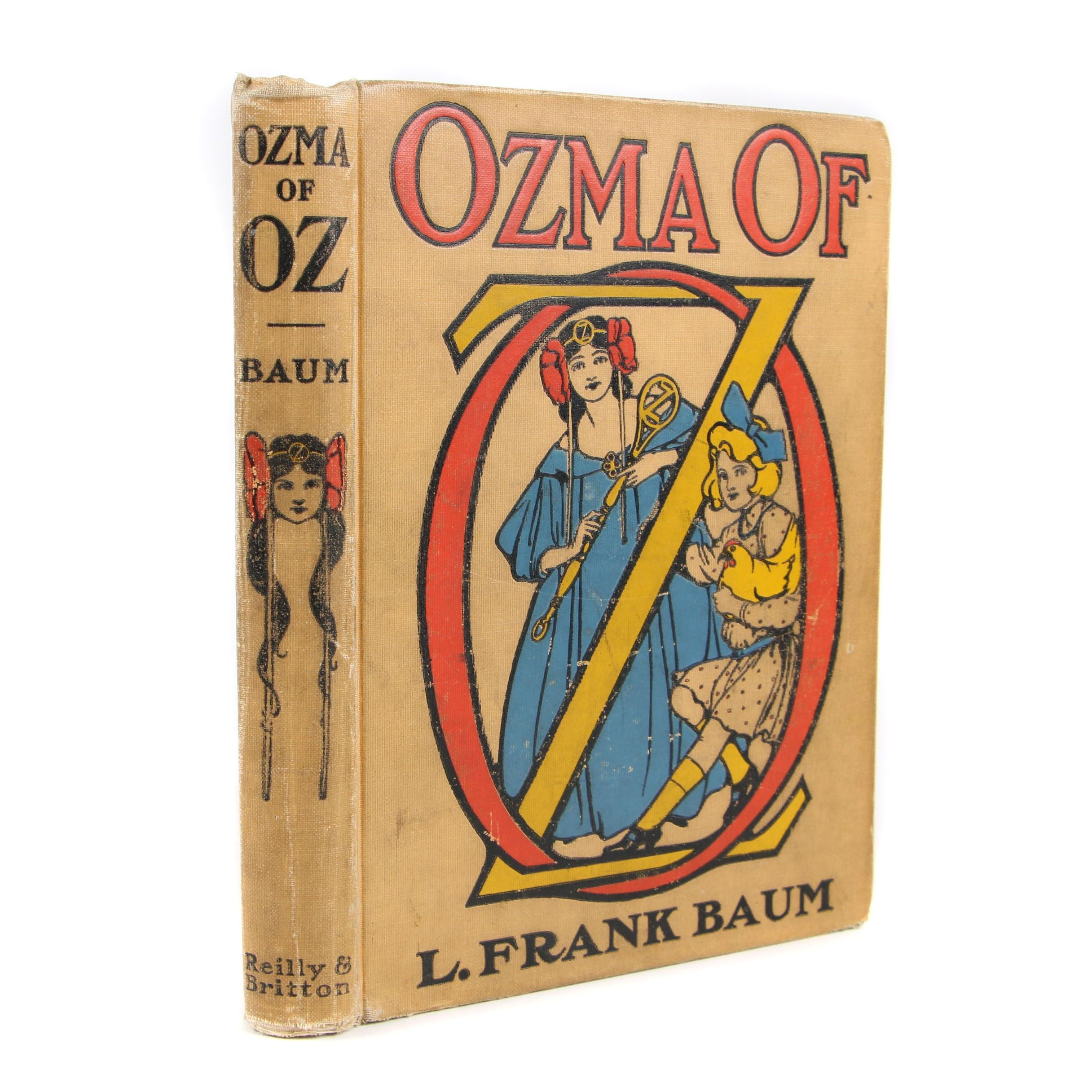 "1907 First Edition ""Ozma of Oz"" by L. Frank Baum"