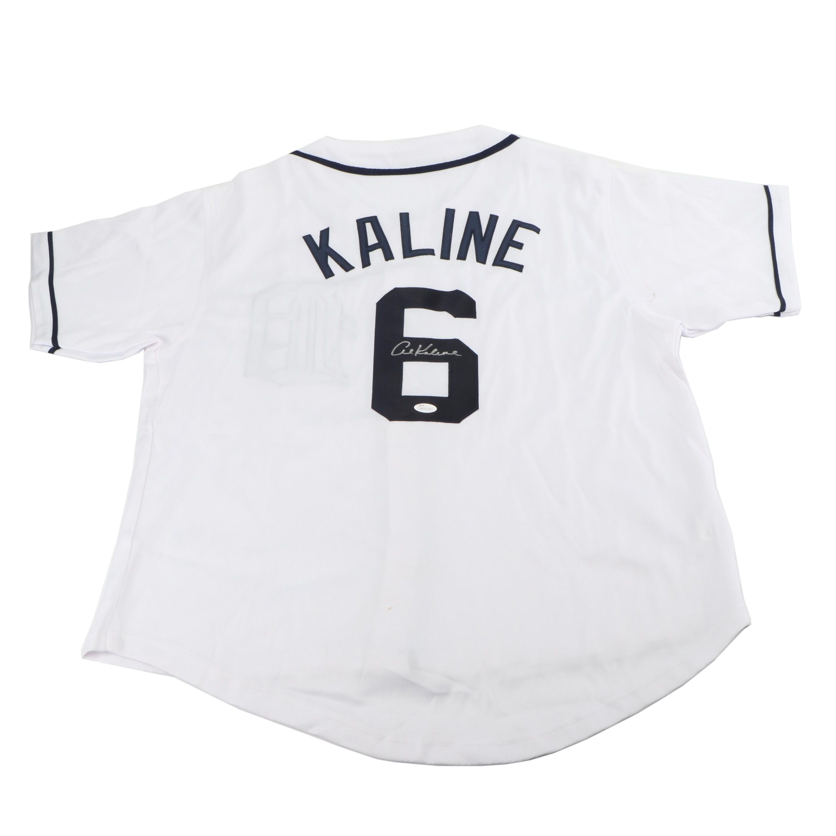 Al Kaline Autographed Detroit Tigers Replica Jersey