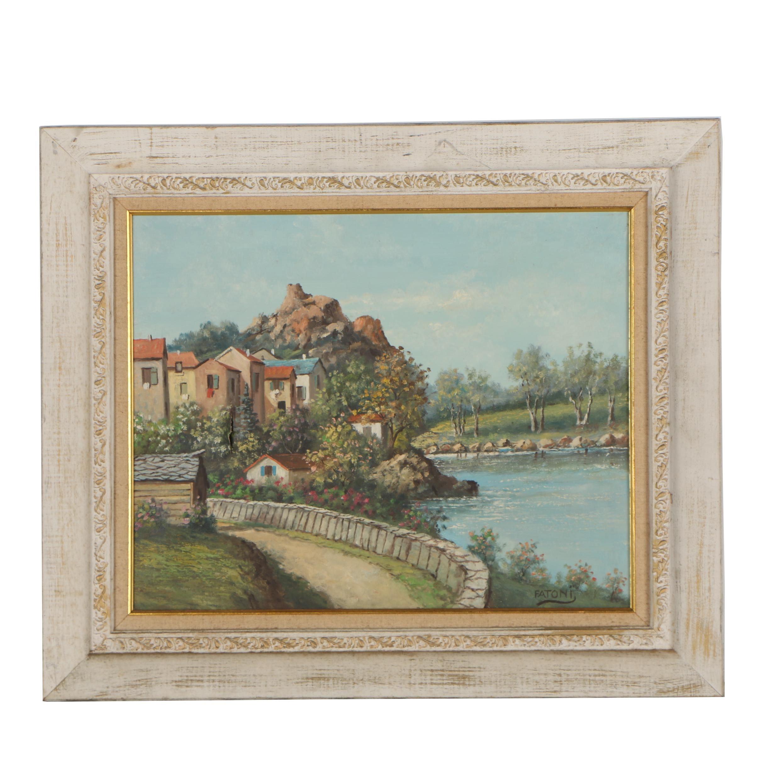 Fatoni Landscape Oil Painting
